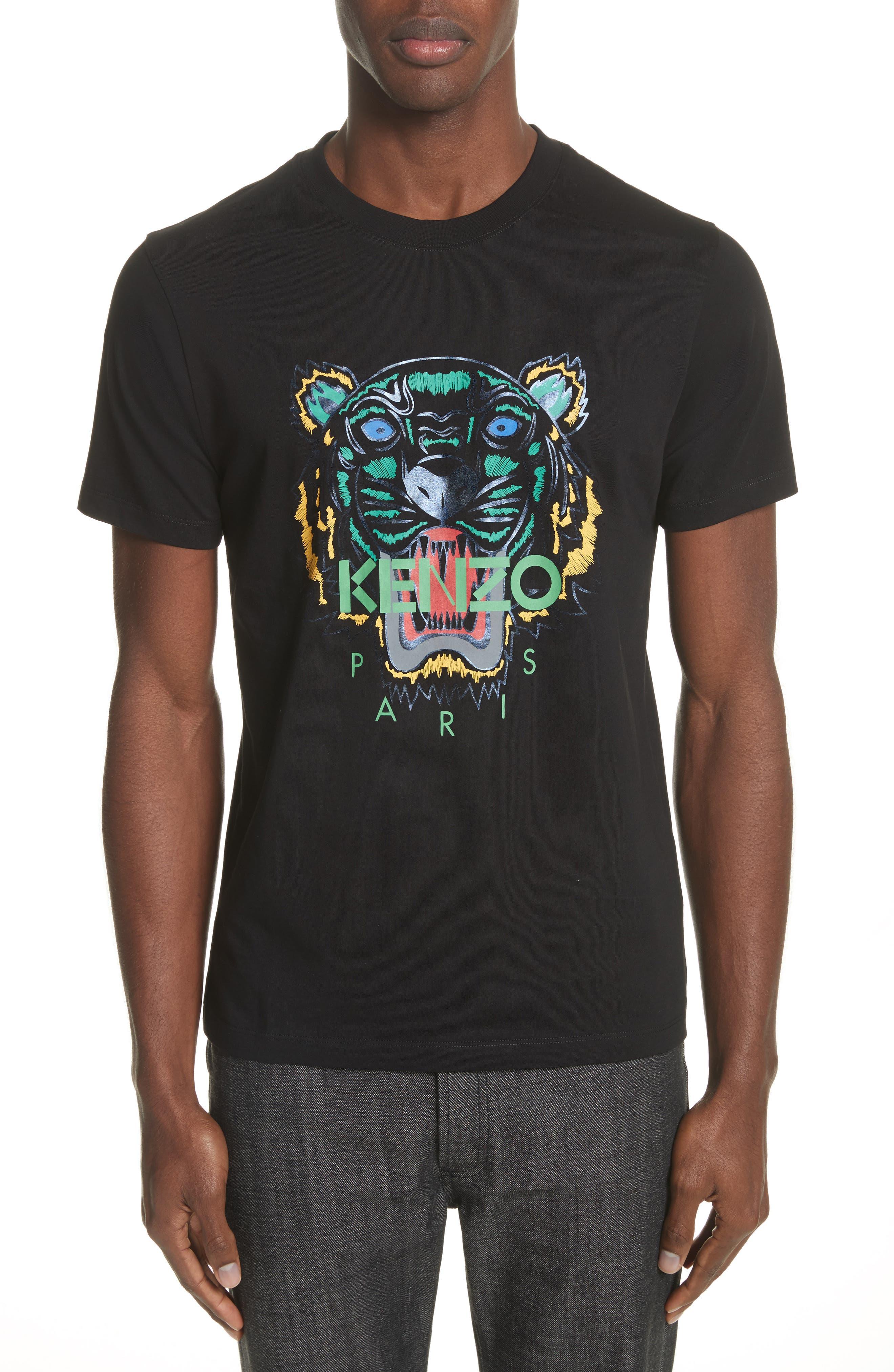 KENZO Tiger Foil Print T-Shirt