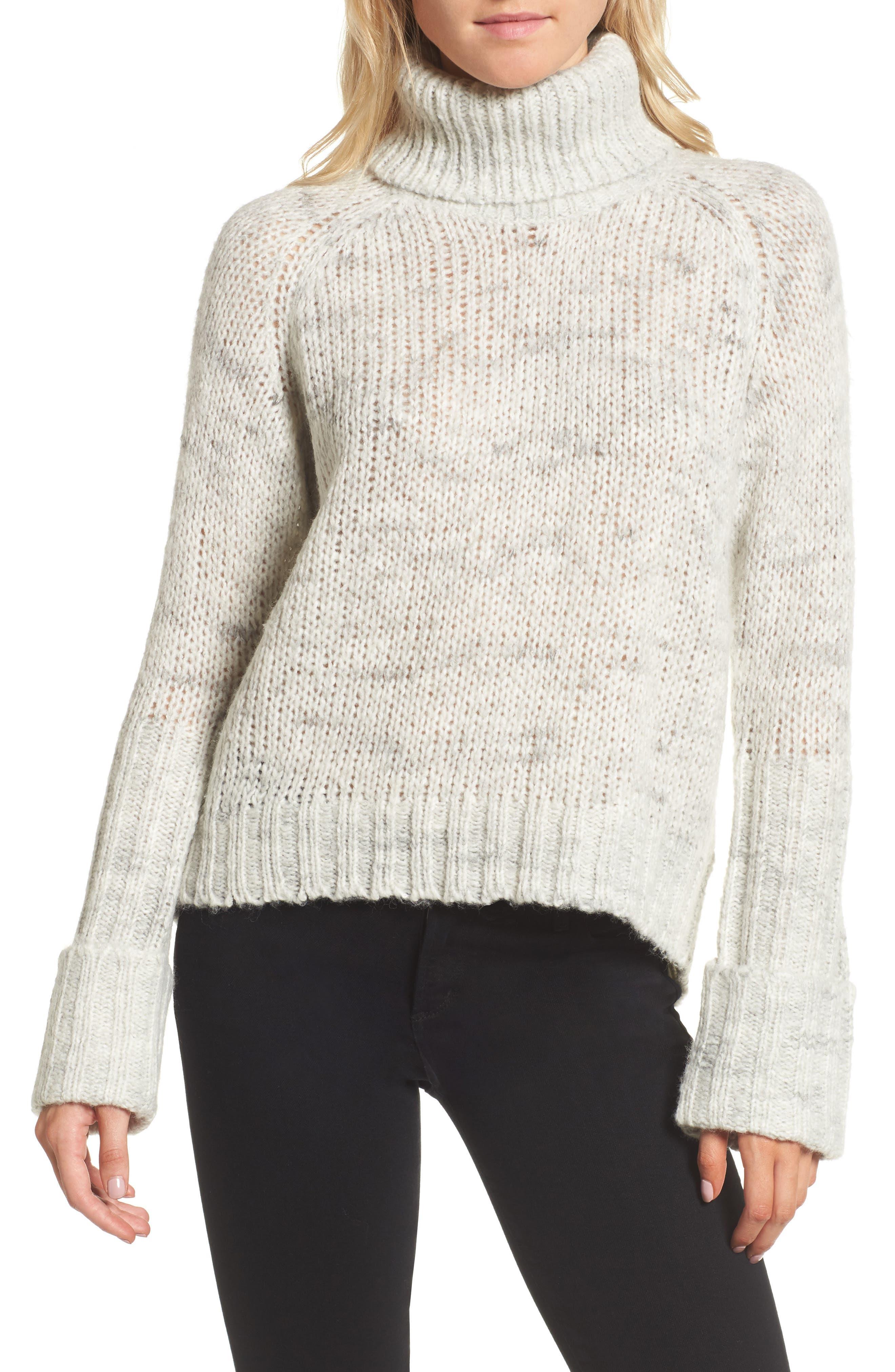 Main Image - Pam & Gela Turtleneck Sweater