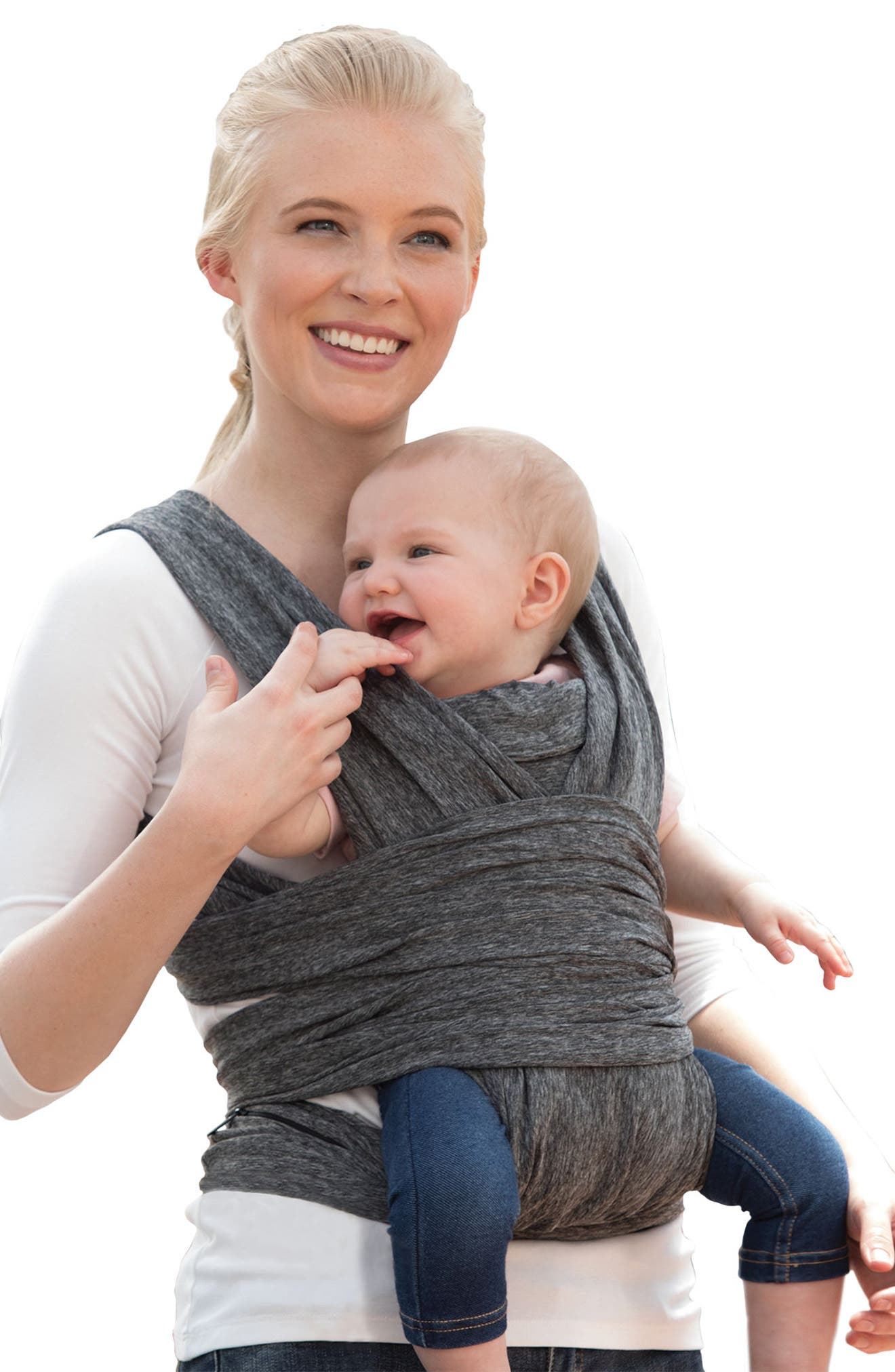 ComfyFit Baby Carrier,                         Main,                         color, Heathered Gray