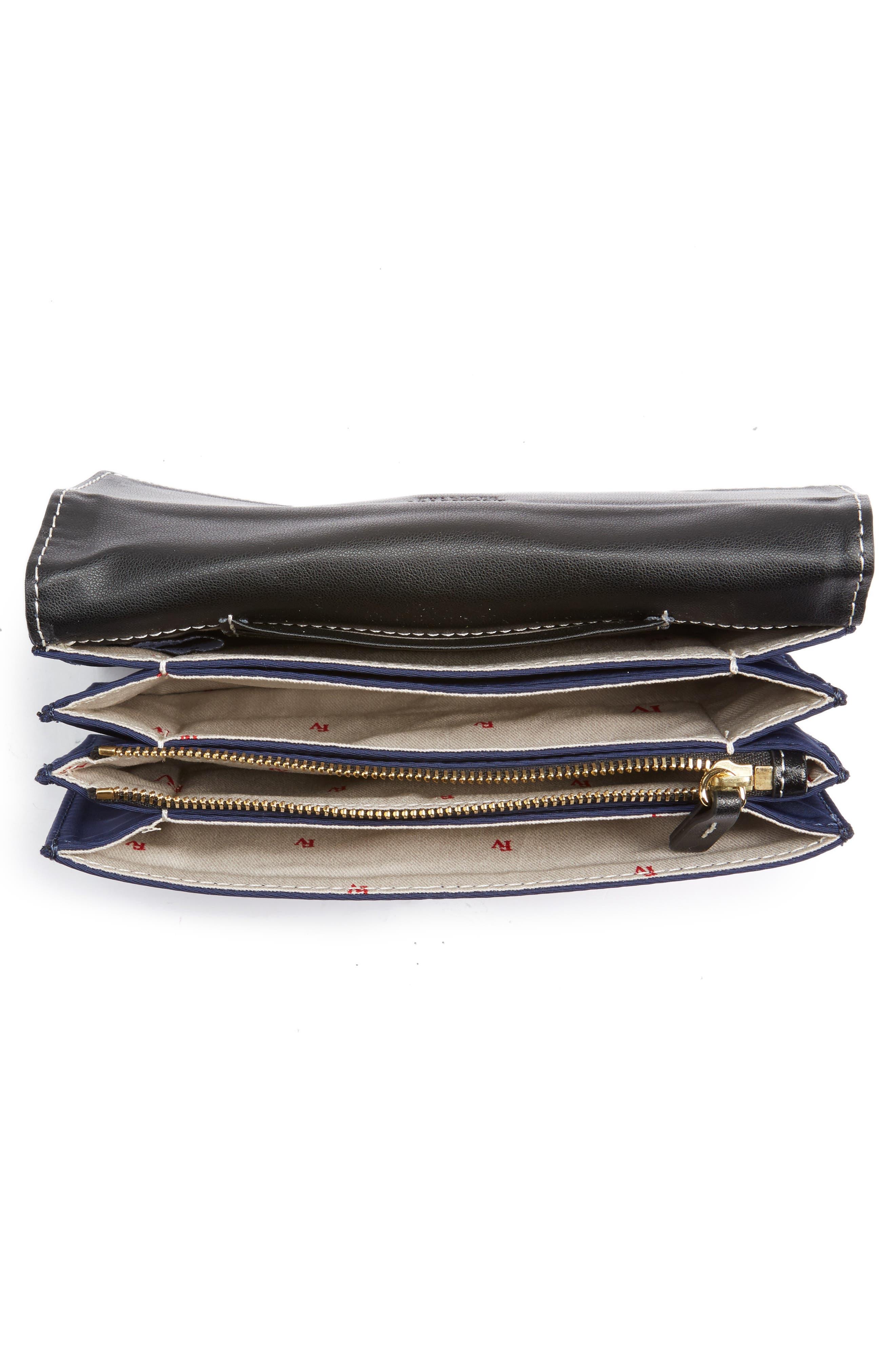 Alternate Image 4  - Frances Valentine Nylon Crossbody Wallet