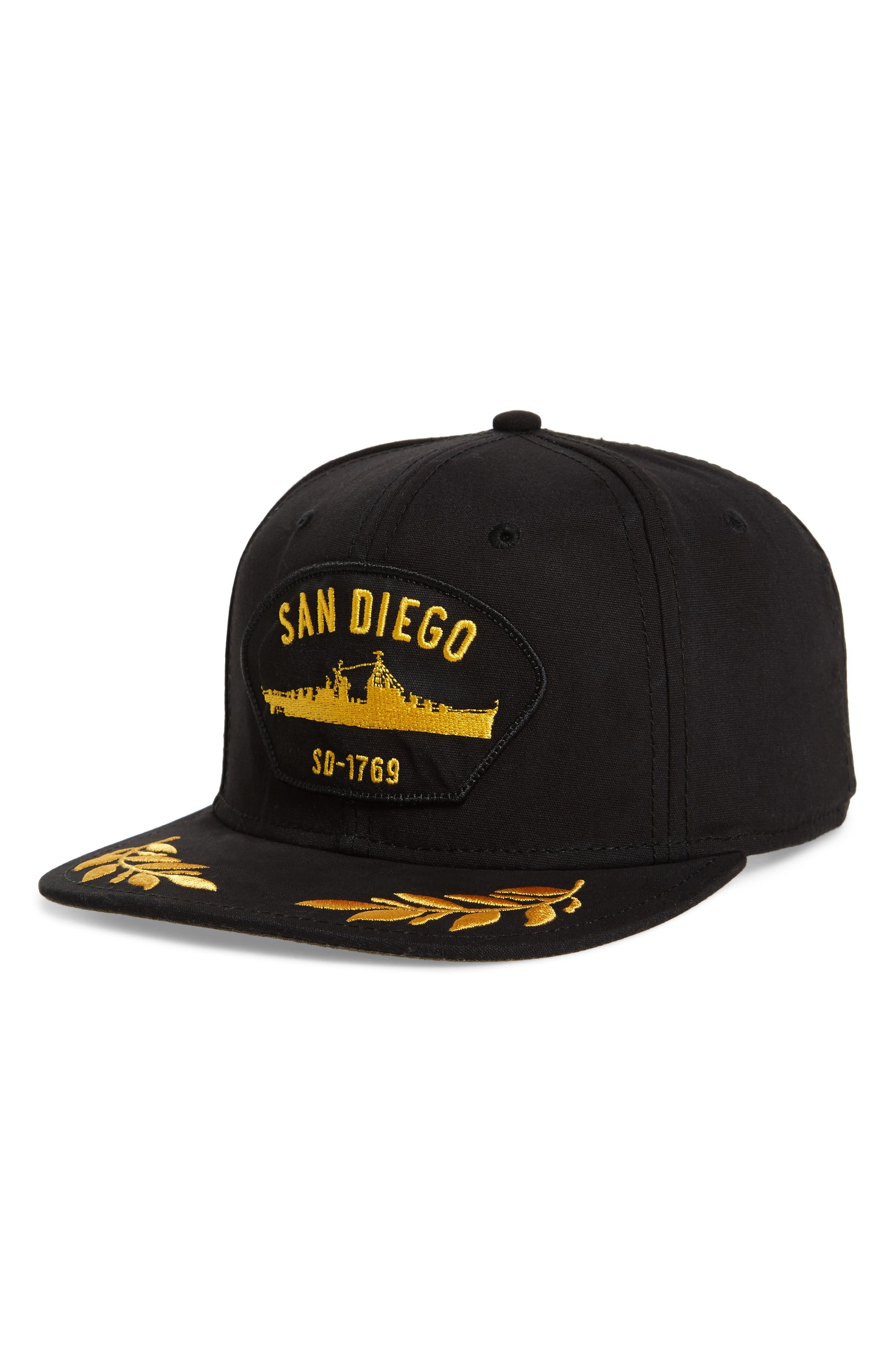 Goorin Bros. San Diego Snapback Baseball Cap