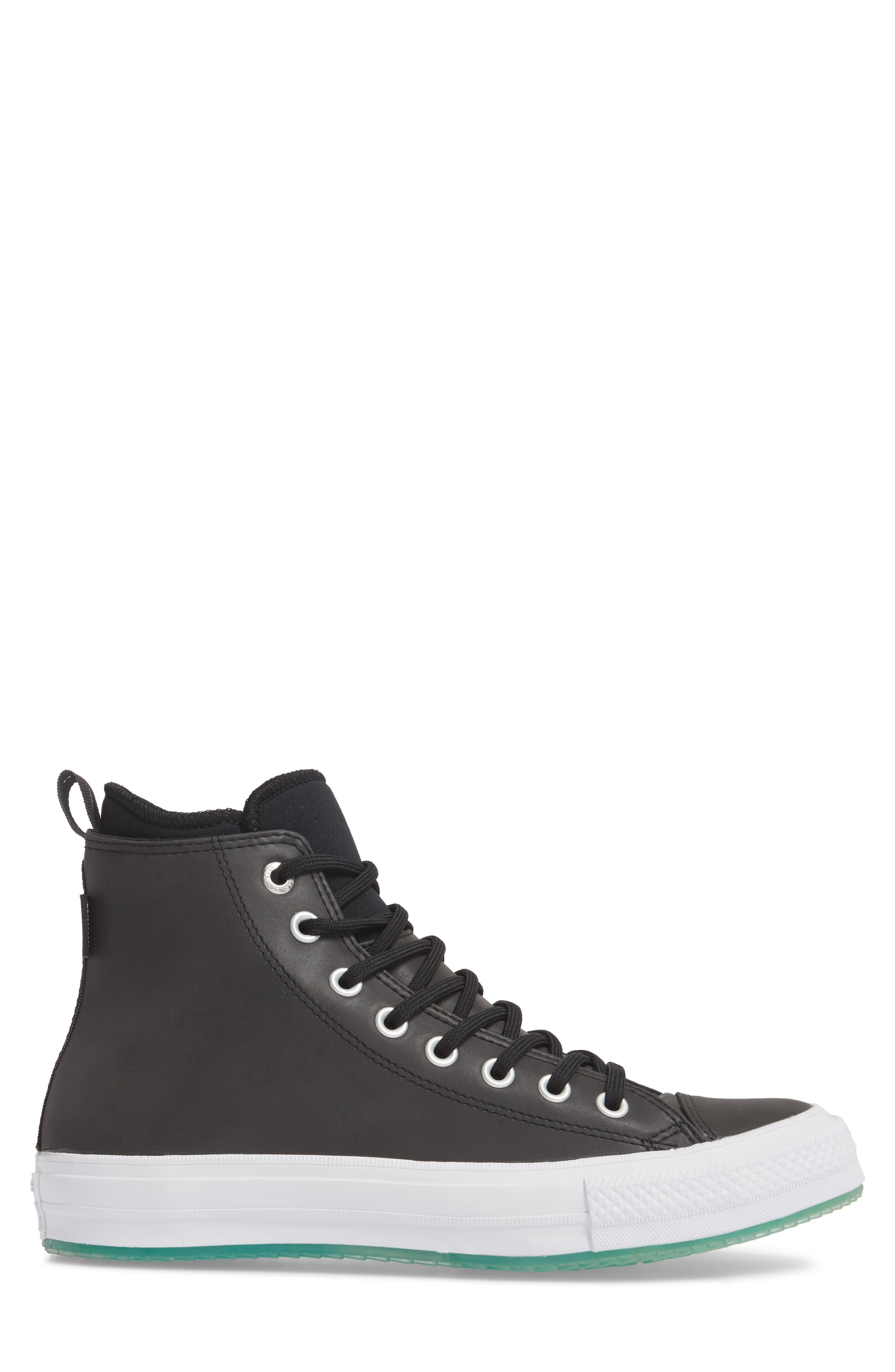 Chuck Taylor<sup>®</sup> All Star<sup>®</sup> Counter Climate Waterproof Sneaker,                             Alternate thumbnail 3, color,                             Black
