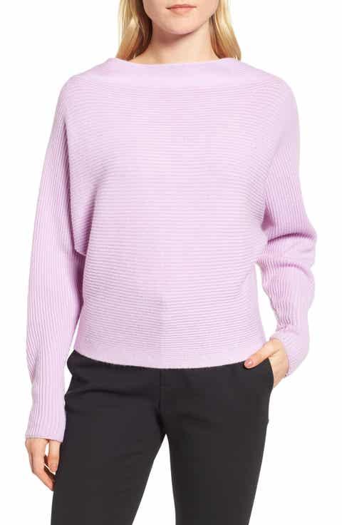 Lewit Dolman Sleeve Cashmere Sweater