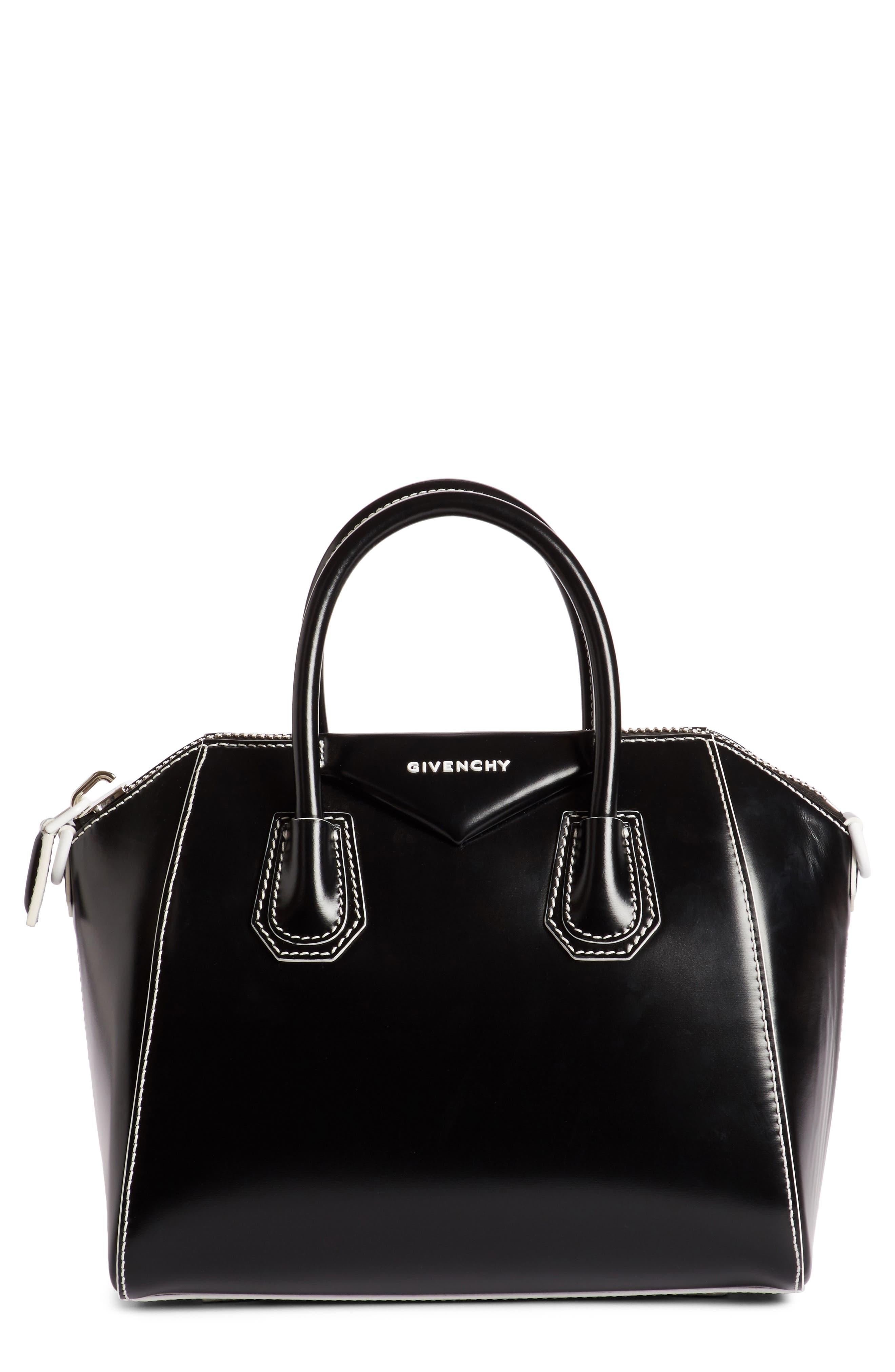 Alternate Image 1 Selected - Givenchy Small Antigona Leather Satchel