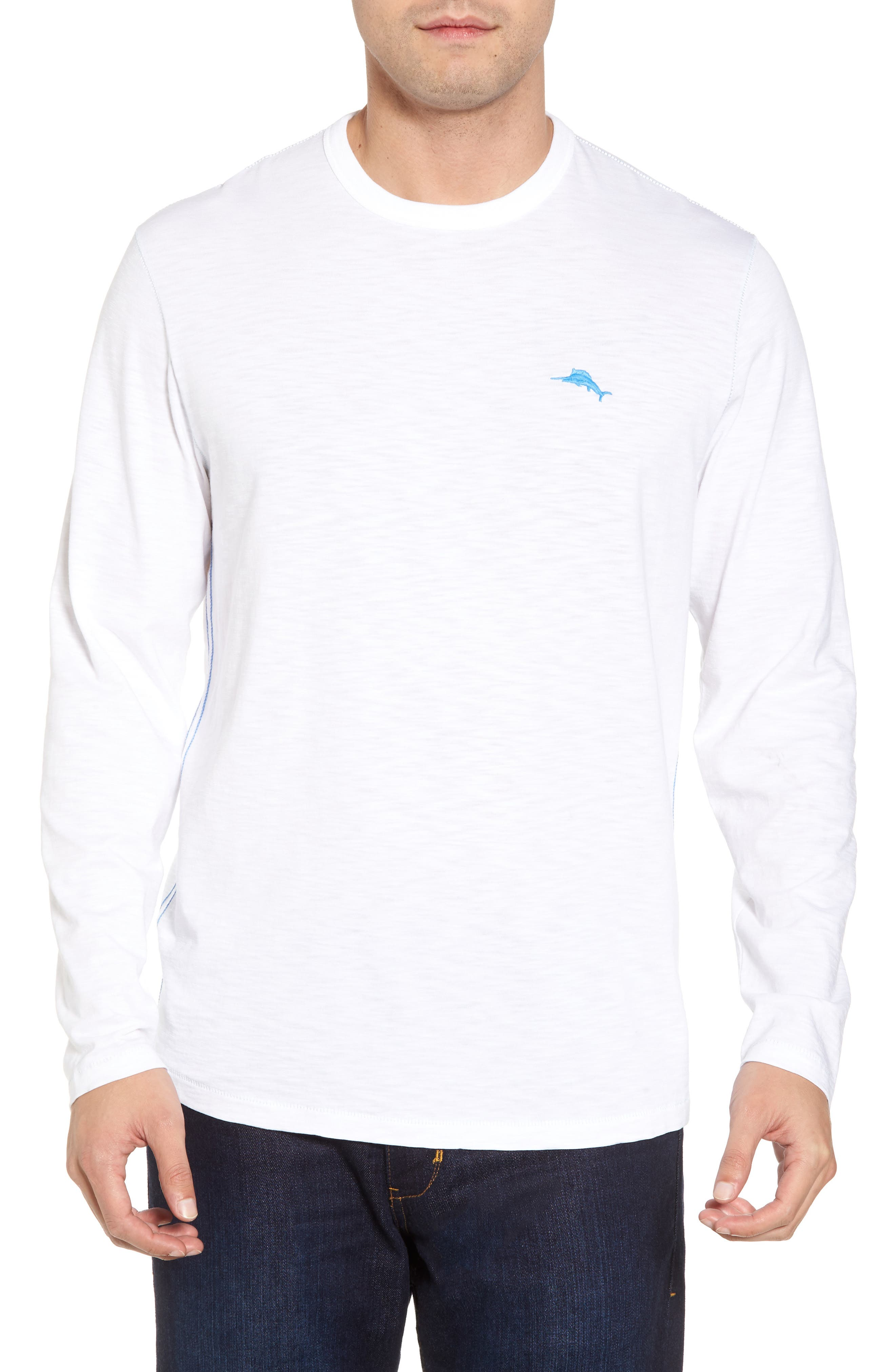 Palmae Beach Lux T-Shirt,                             Alternate thumbnail 2, color,                             White