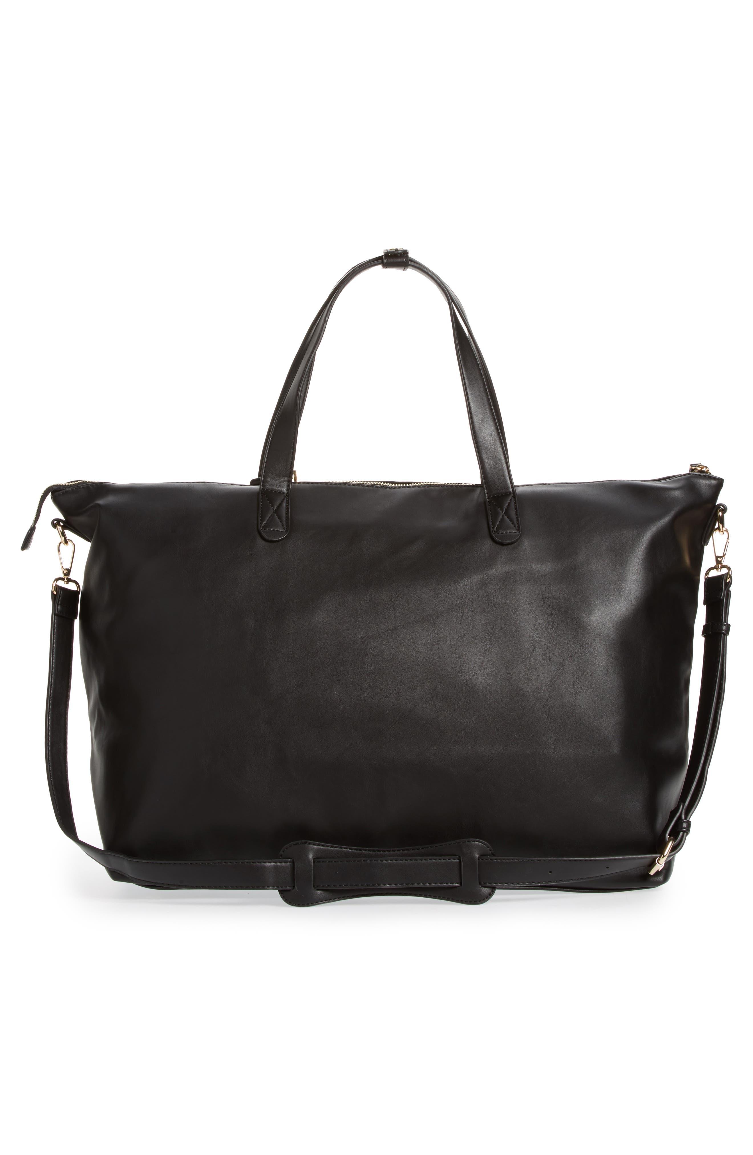 Kelis Duffel Bag,                             Alternate thumbnail 3, color,                             Black