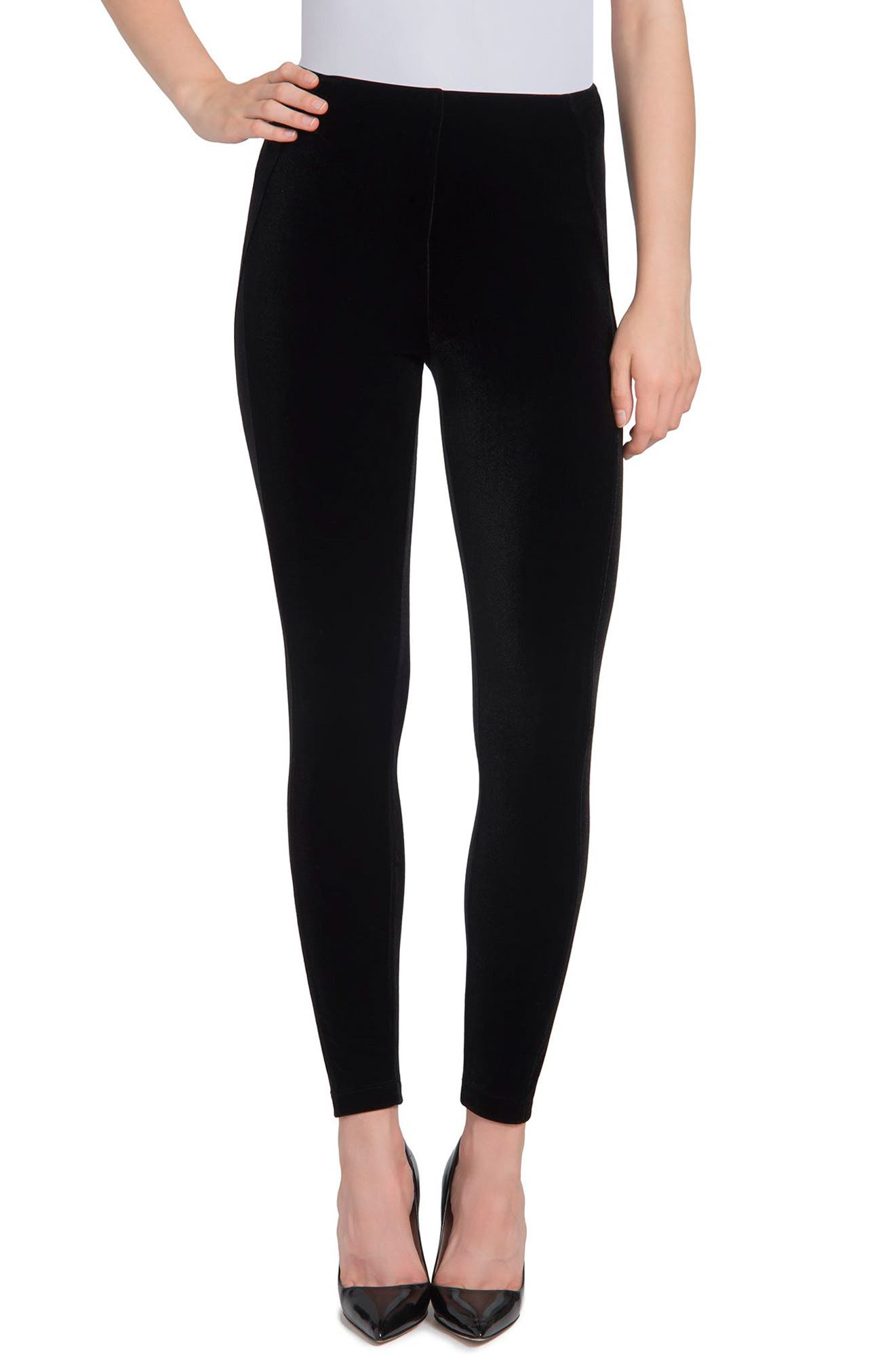 Lyssé Ella Velvet High Waist Leggings