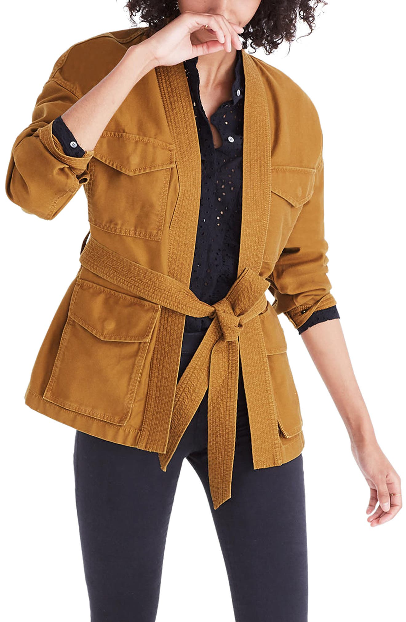 Alternate Image 1 Selected - Madewell Kimono Jacket
