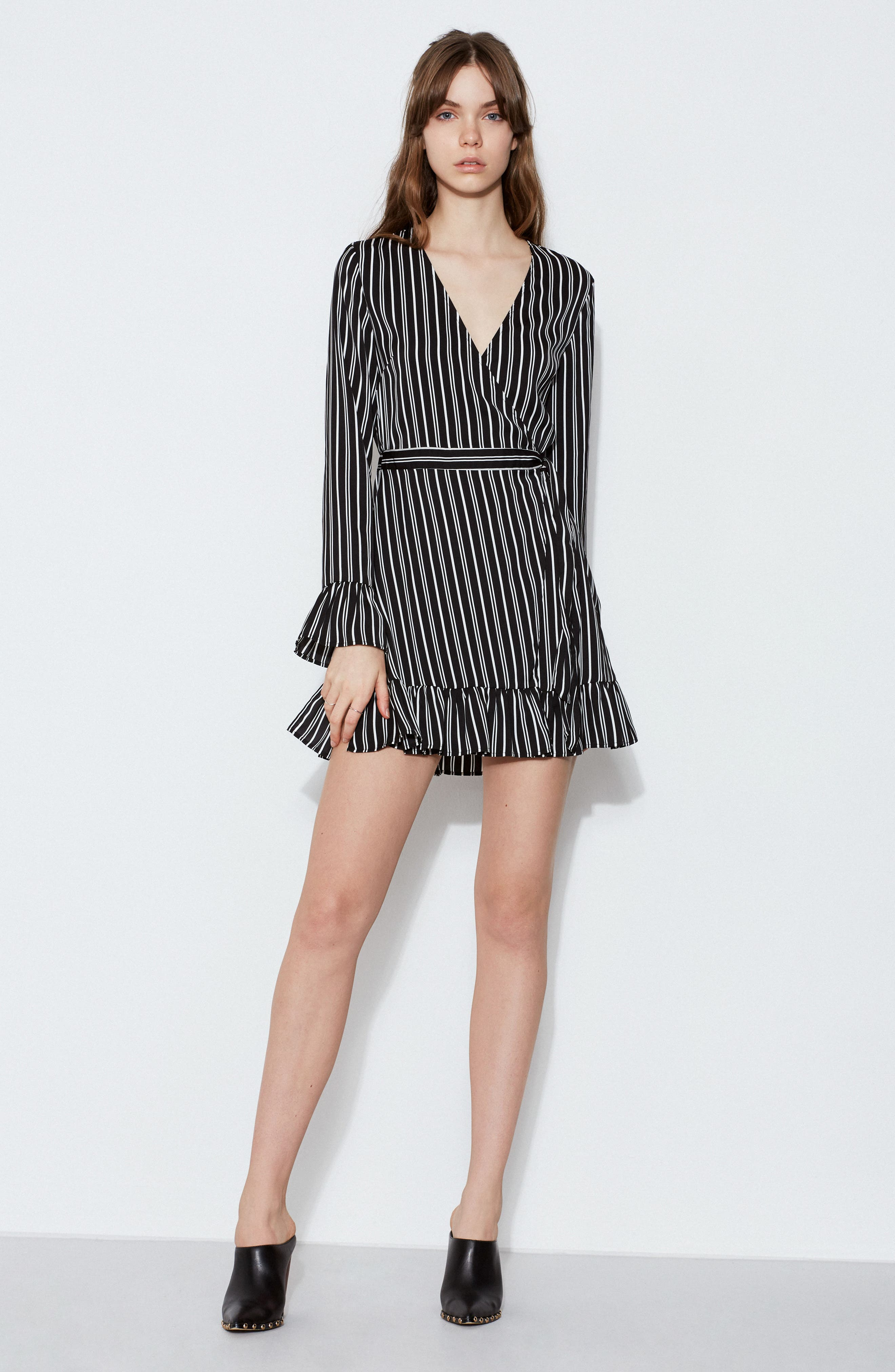 Alternate Image 7  - The Fifth Label Ophelia Stripe Wrap Dress