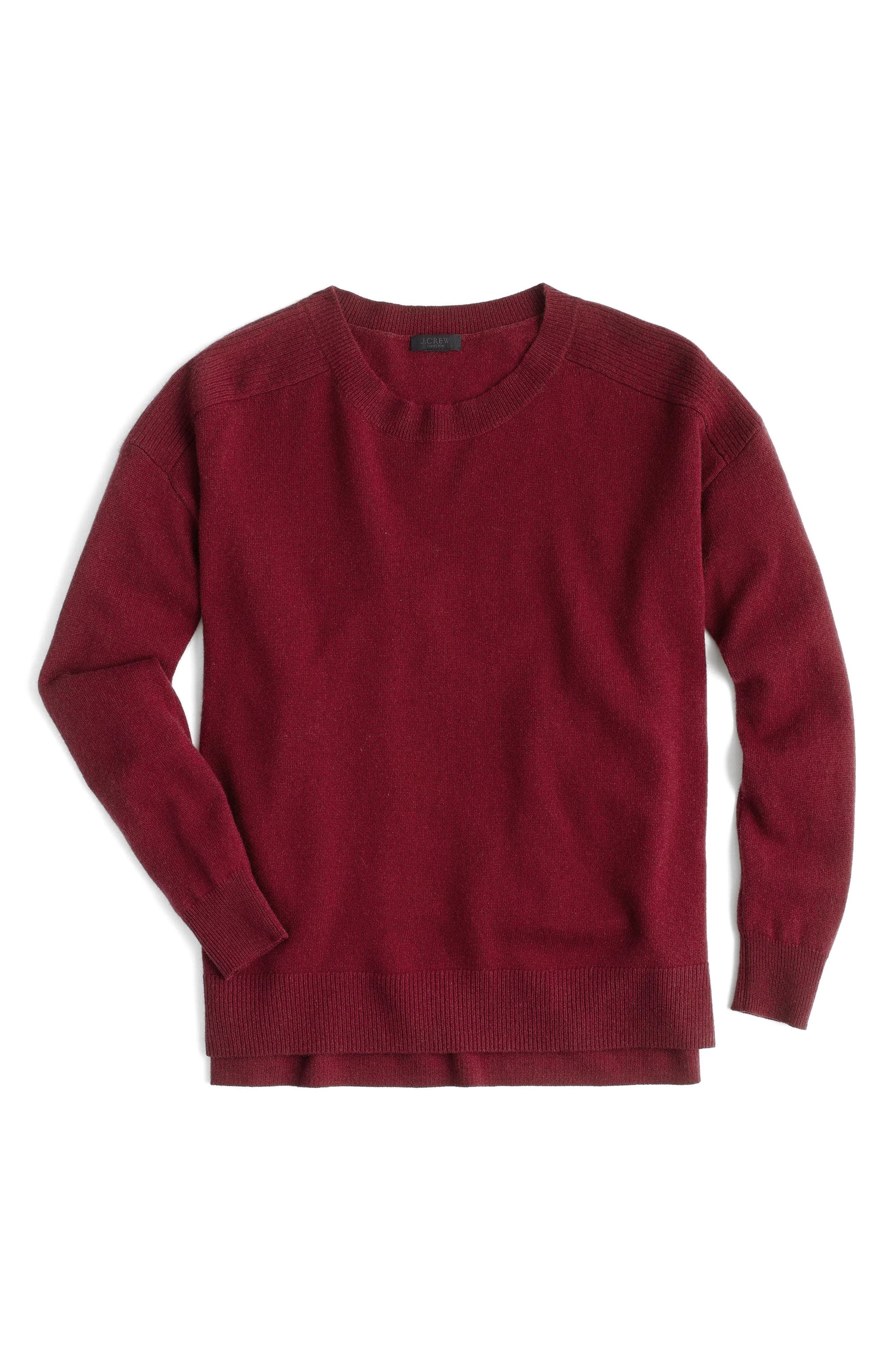 J.Crew Carine Relaxed Cashmere Sweater