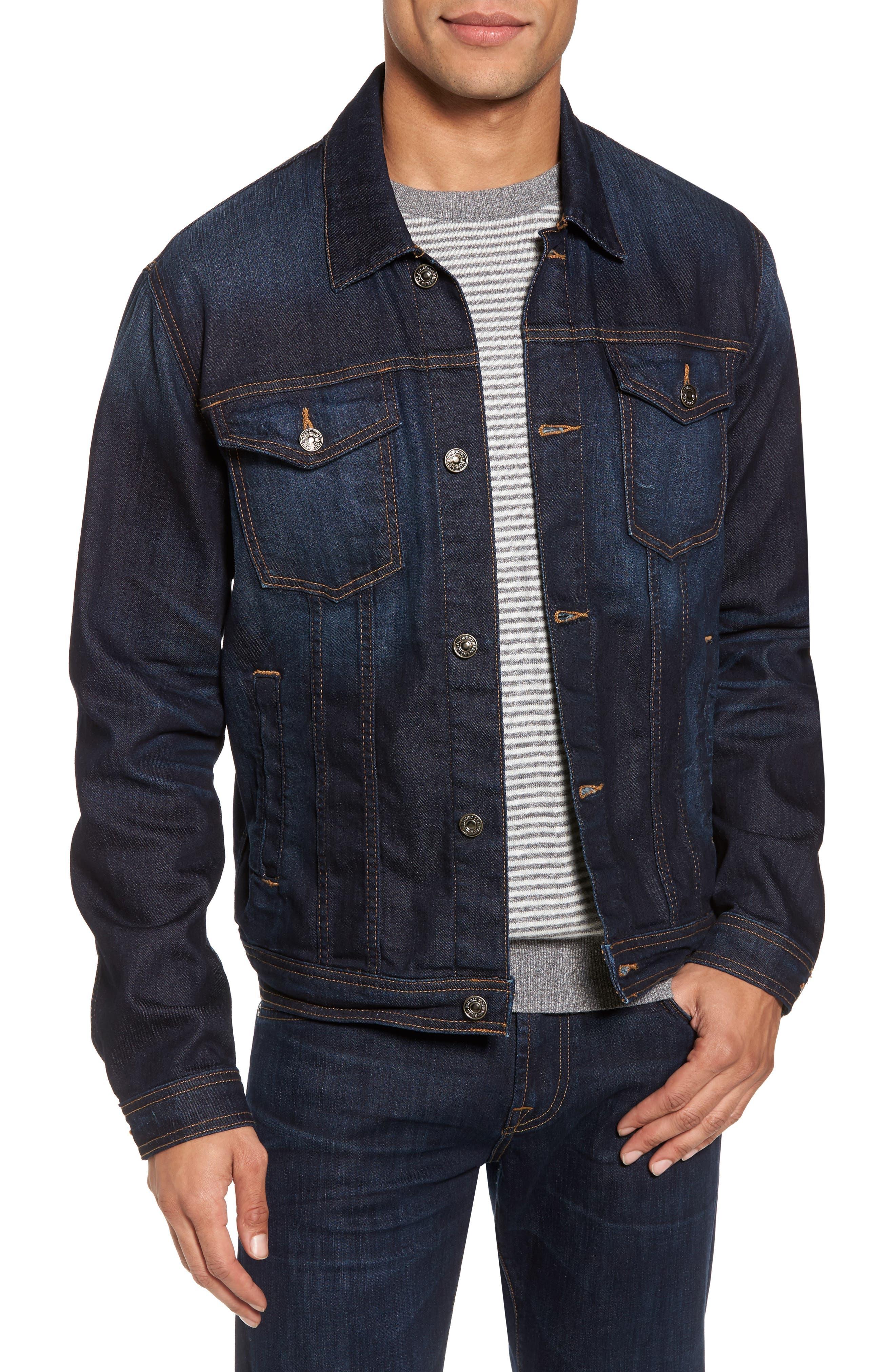 Denim Jacket,                         Main,                         color, Melrose Vintage