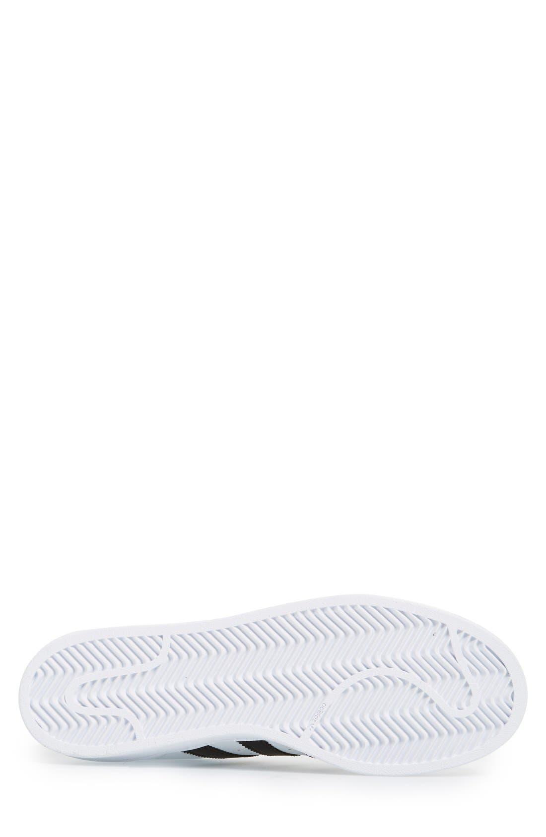 Alternate Image 4  - adidas Superstar Foundation Sneaker