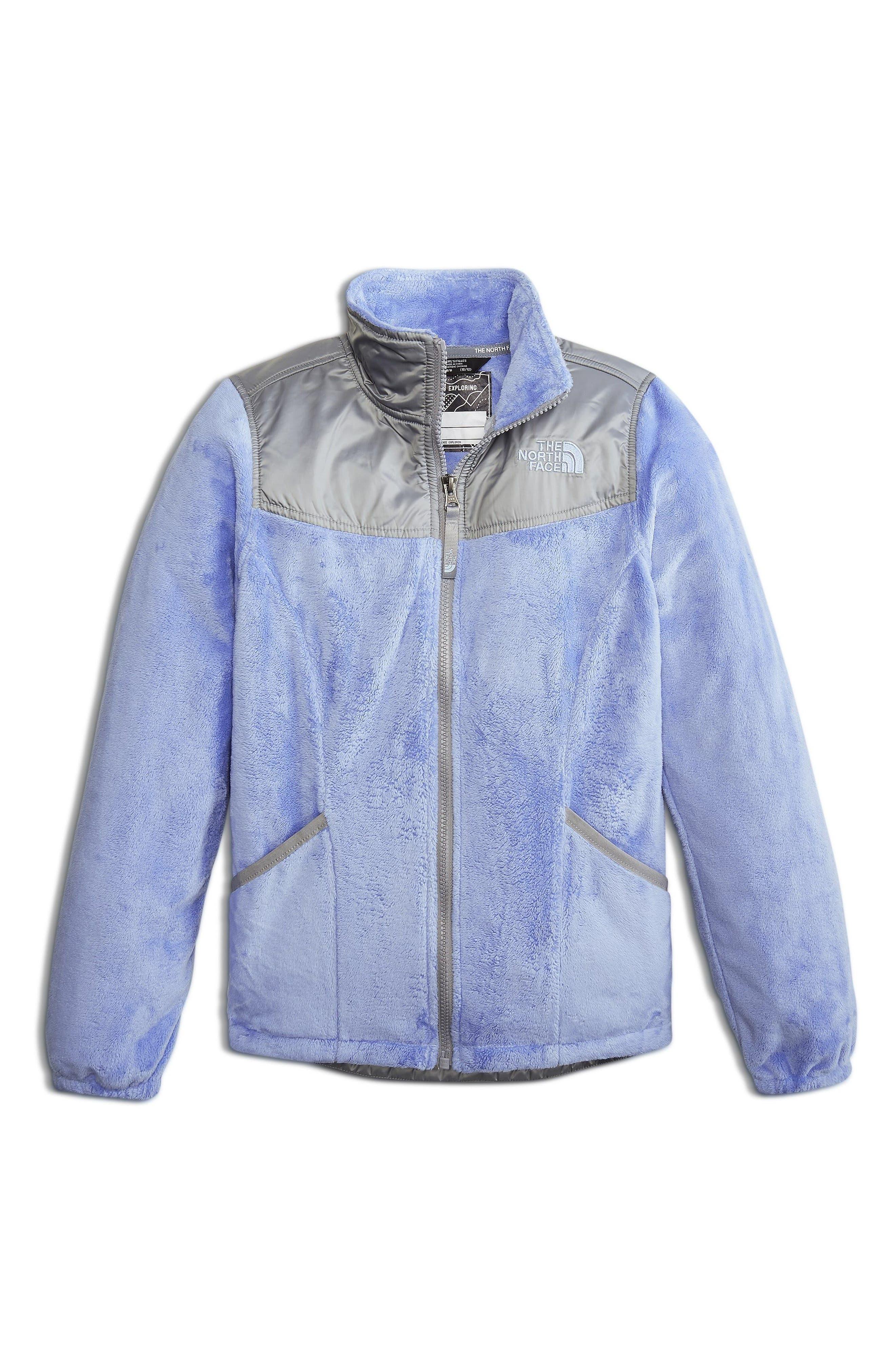 Osolita 2 Fleece Jacket,                         Main,                         color, Collar Blue