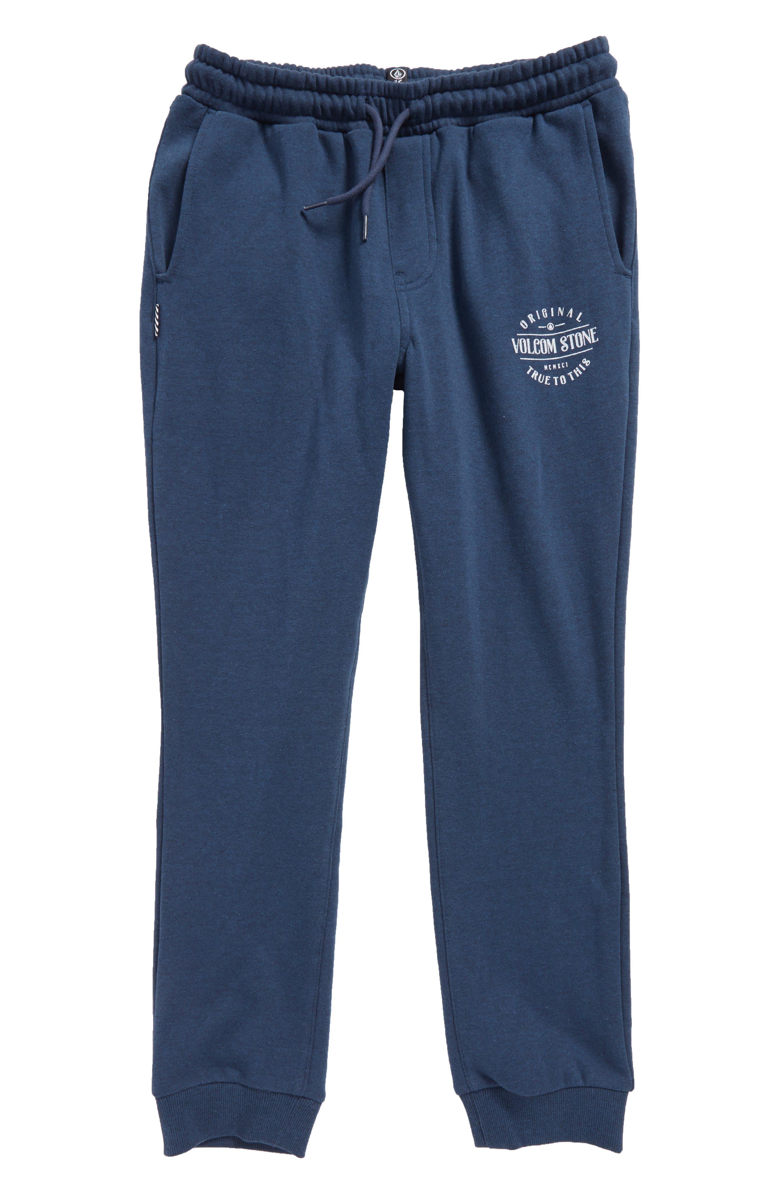 Volcom Reload Fleece Jogger Pants (Big Boys)