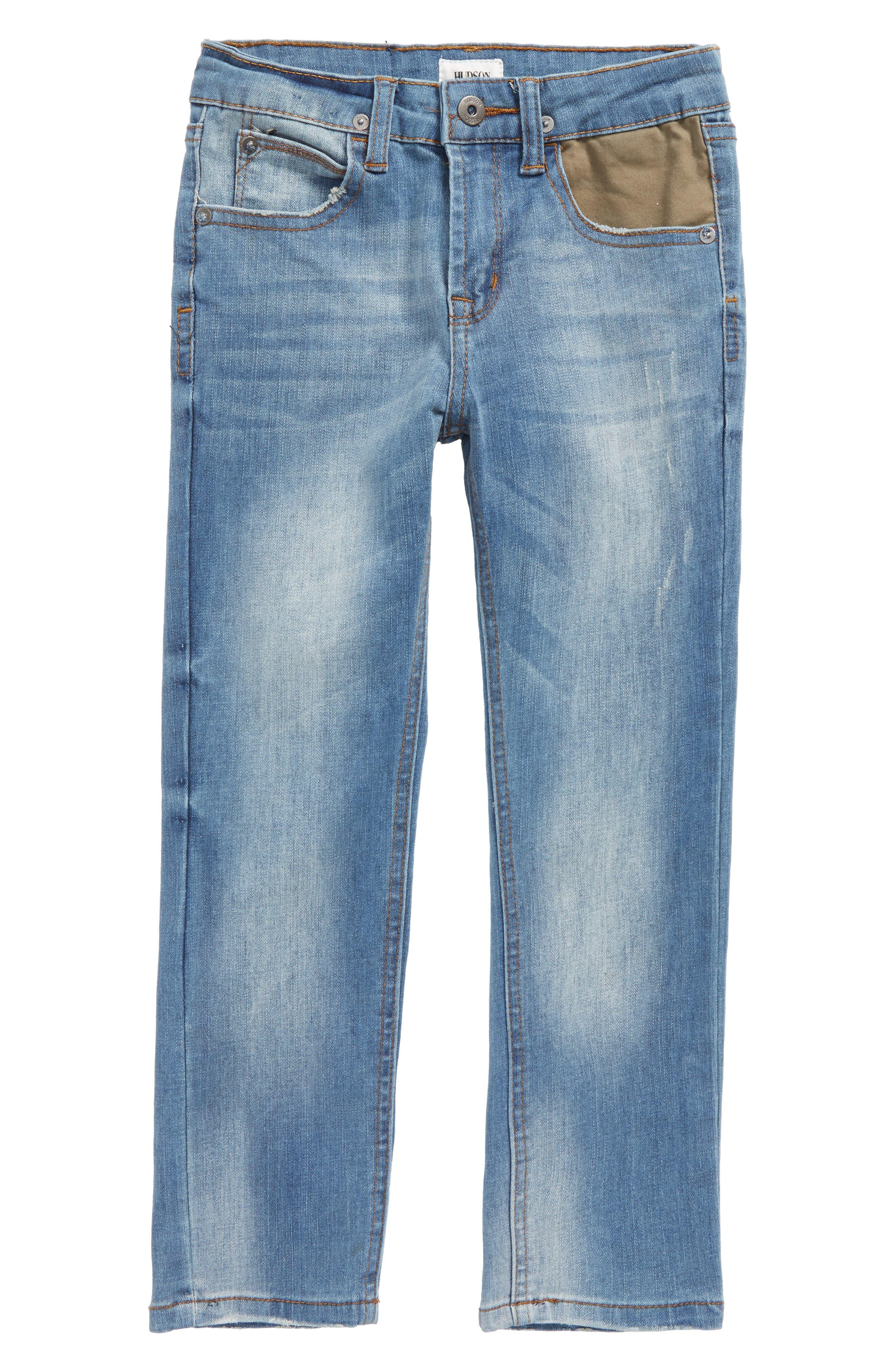 Alternate Image 1 Selected - Hudson Kids Jagger Slim Straight Leg Jeans (Toddler Boys & Little Boys)