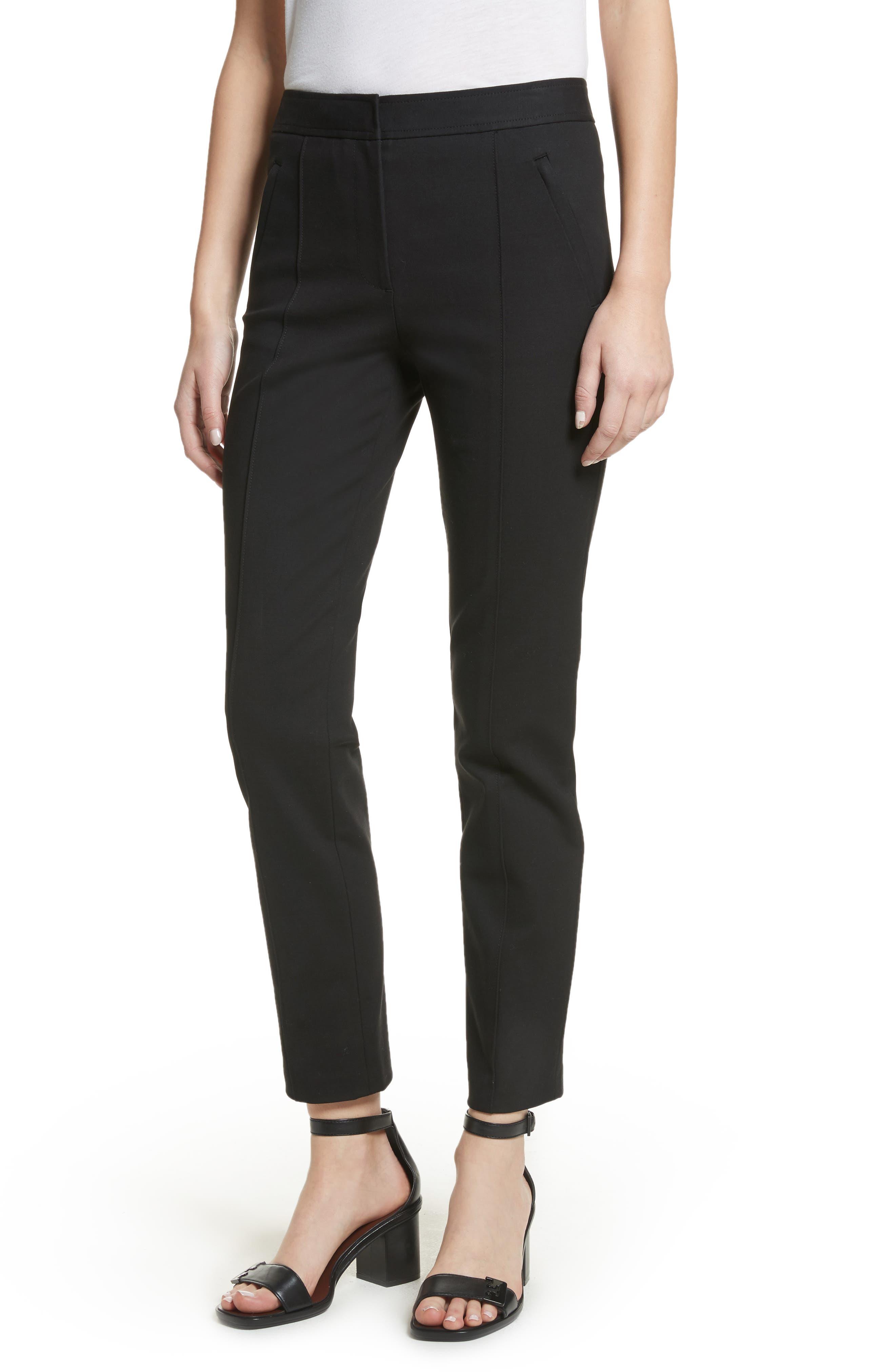 Vanner Slim Leg Ankle Pants,                         Main,                         color, Black