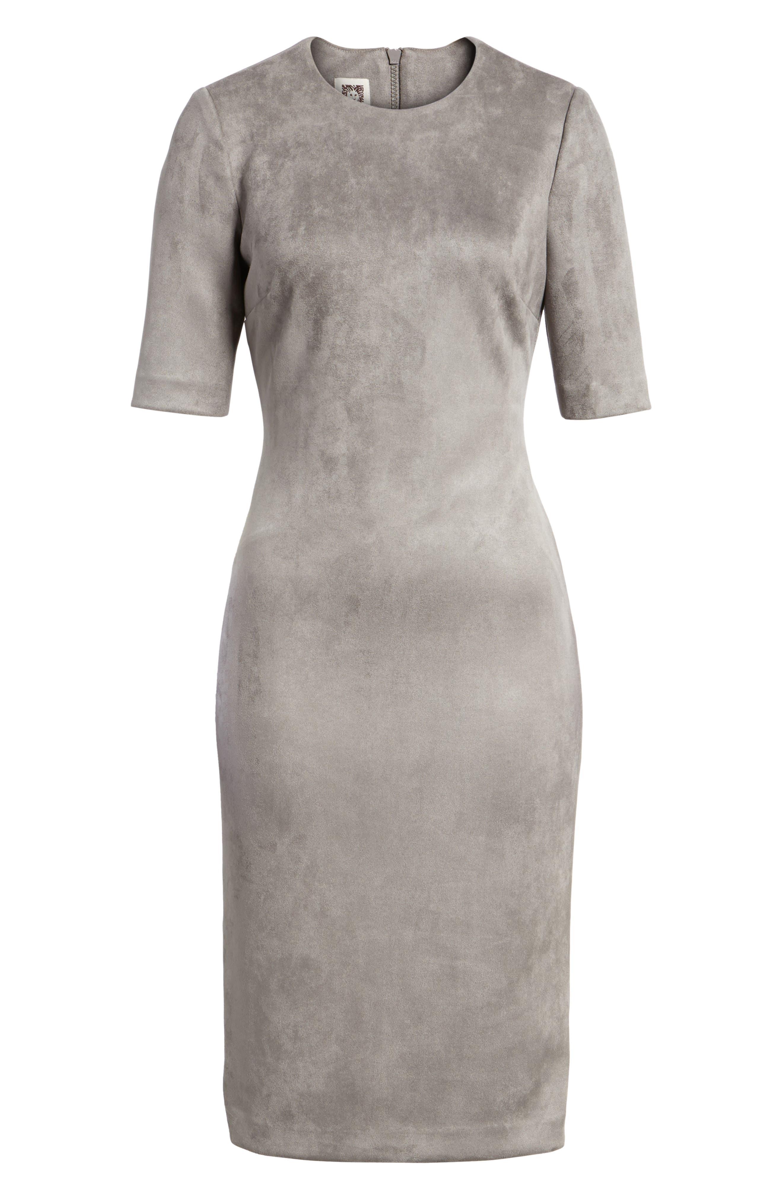 Alternate Image 6  - Anne Klein Scuba Knit Sheath Dress