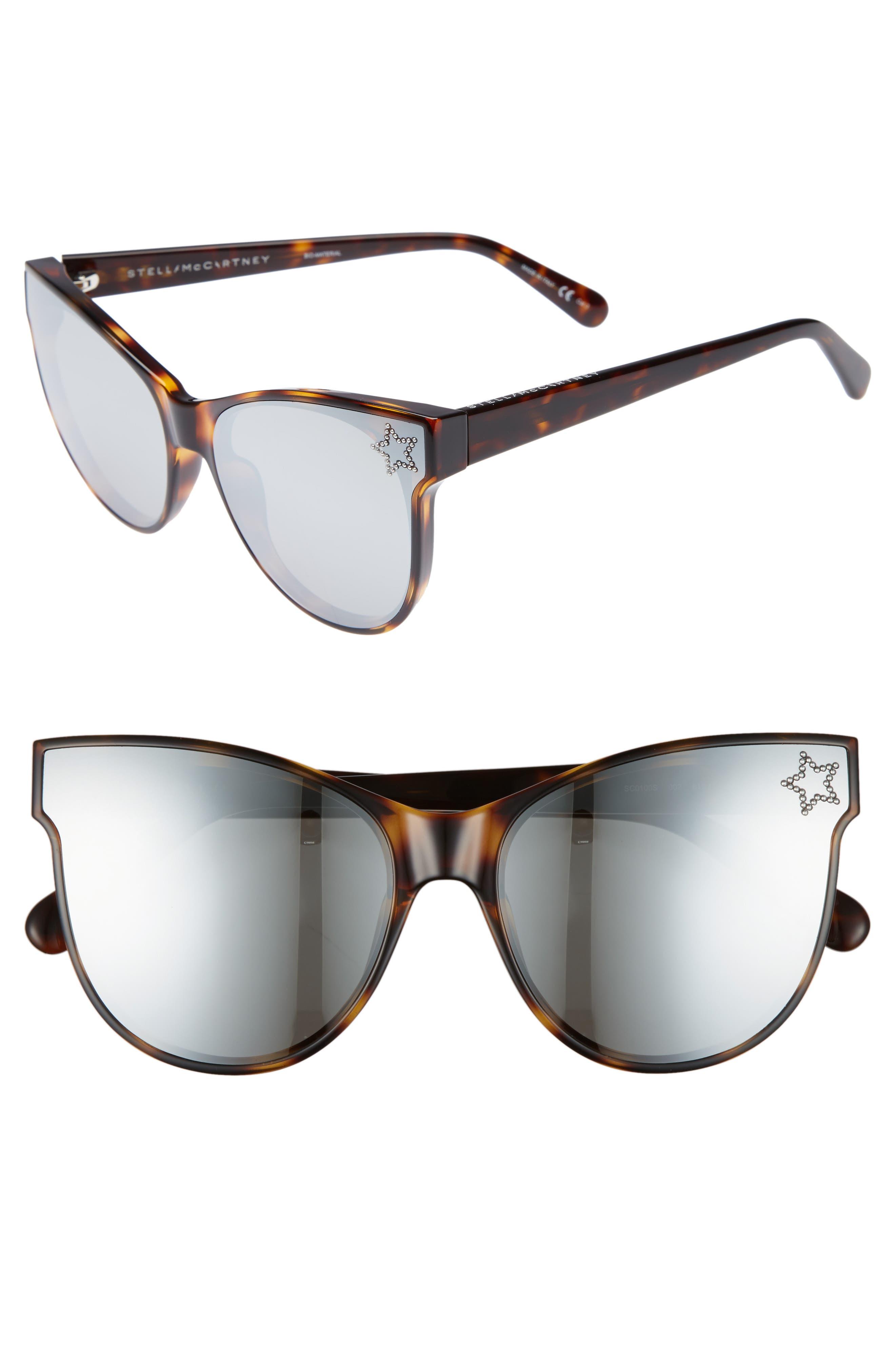 Main Image - Stella McCartney 61mm Cat Eye Sunglasses