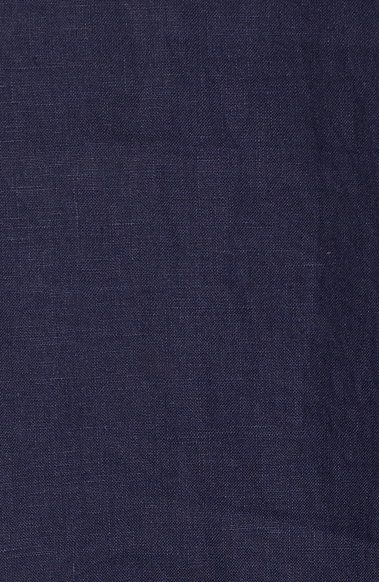 Alternate Image 5  - Eileen Fisher Organic Linen Round Neck Shift Dress