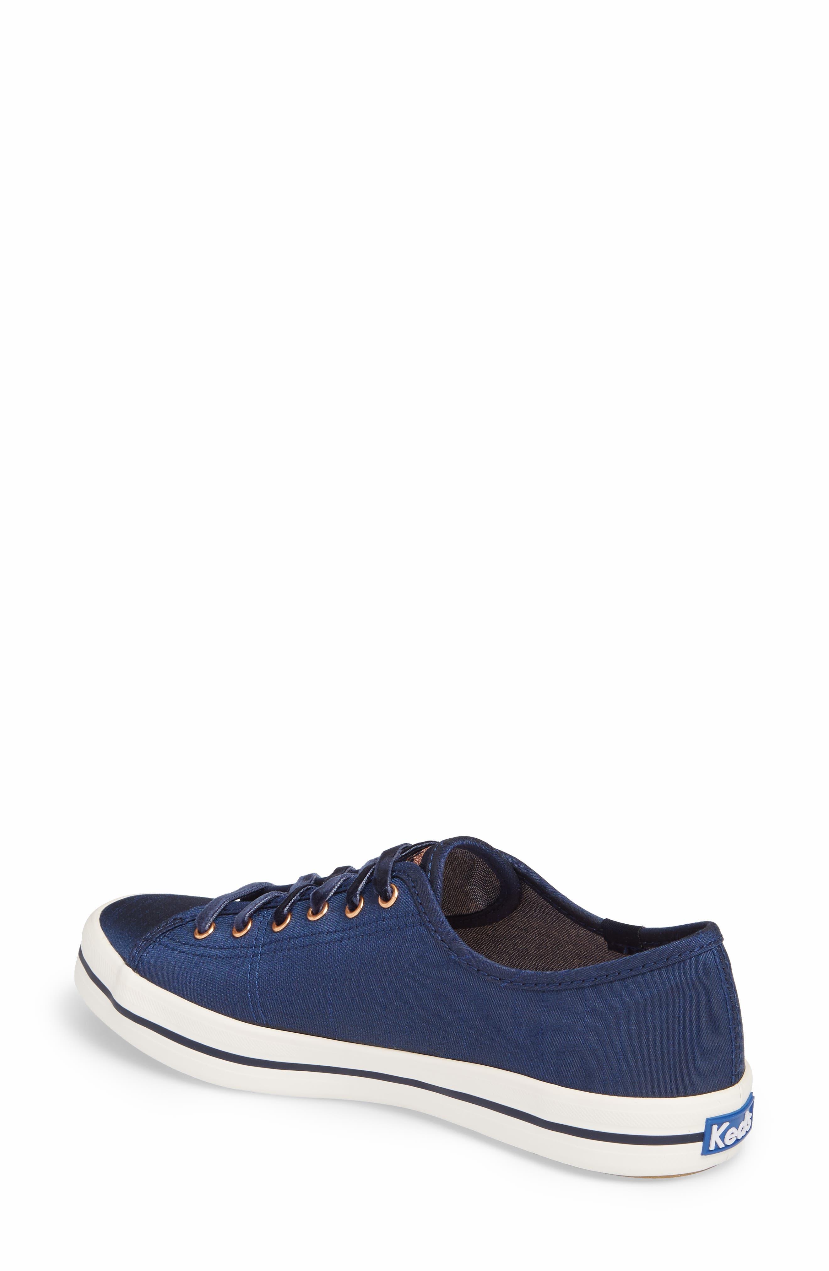 Kickstart Sneaker,                             Alternate thumbnail 2, color,                             Navy Satin