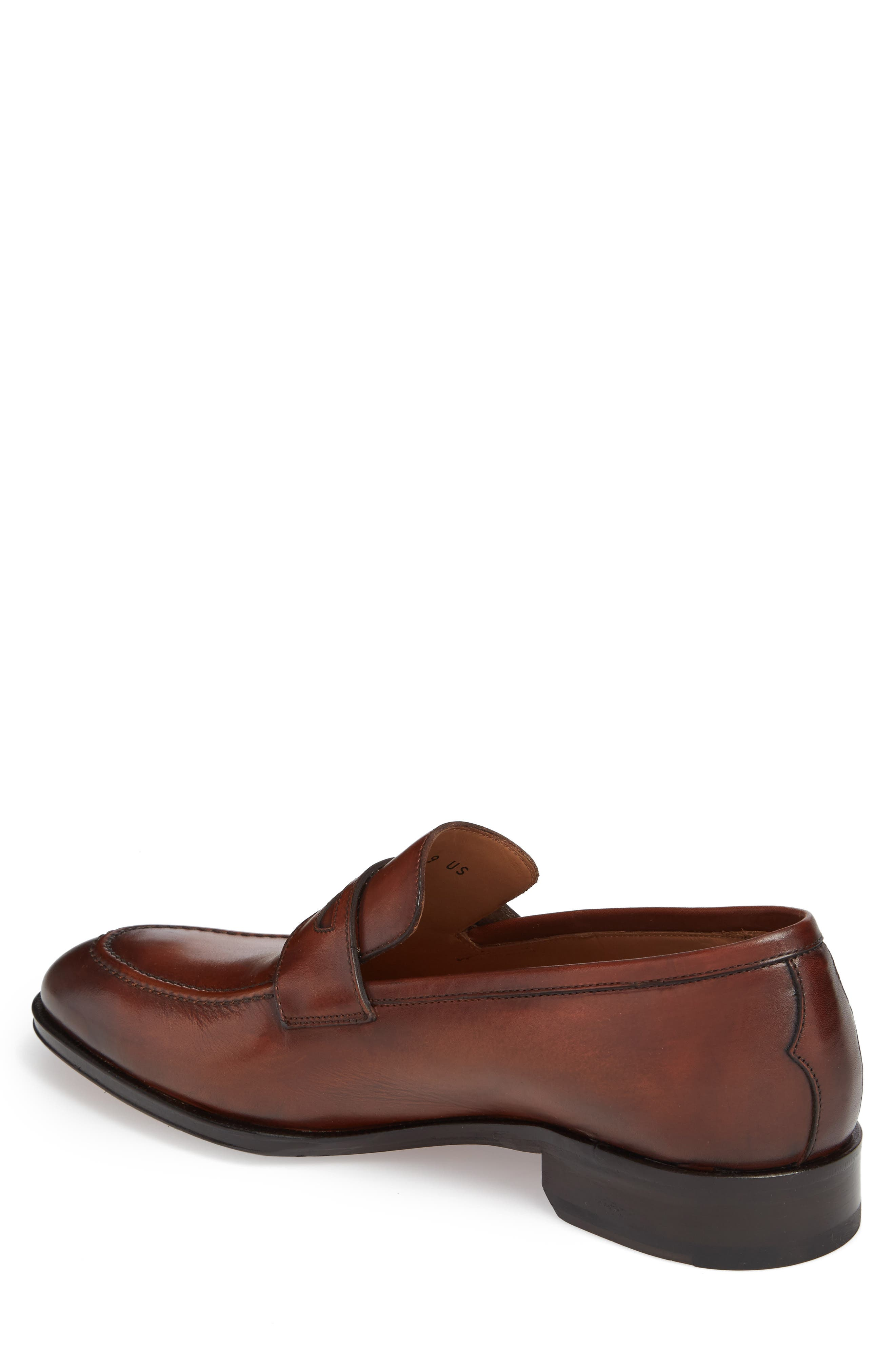 Penny Loafer,                             Alternate thumbnail 2, color,                             Marble Brown