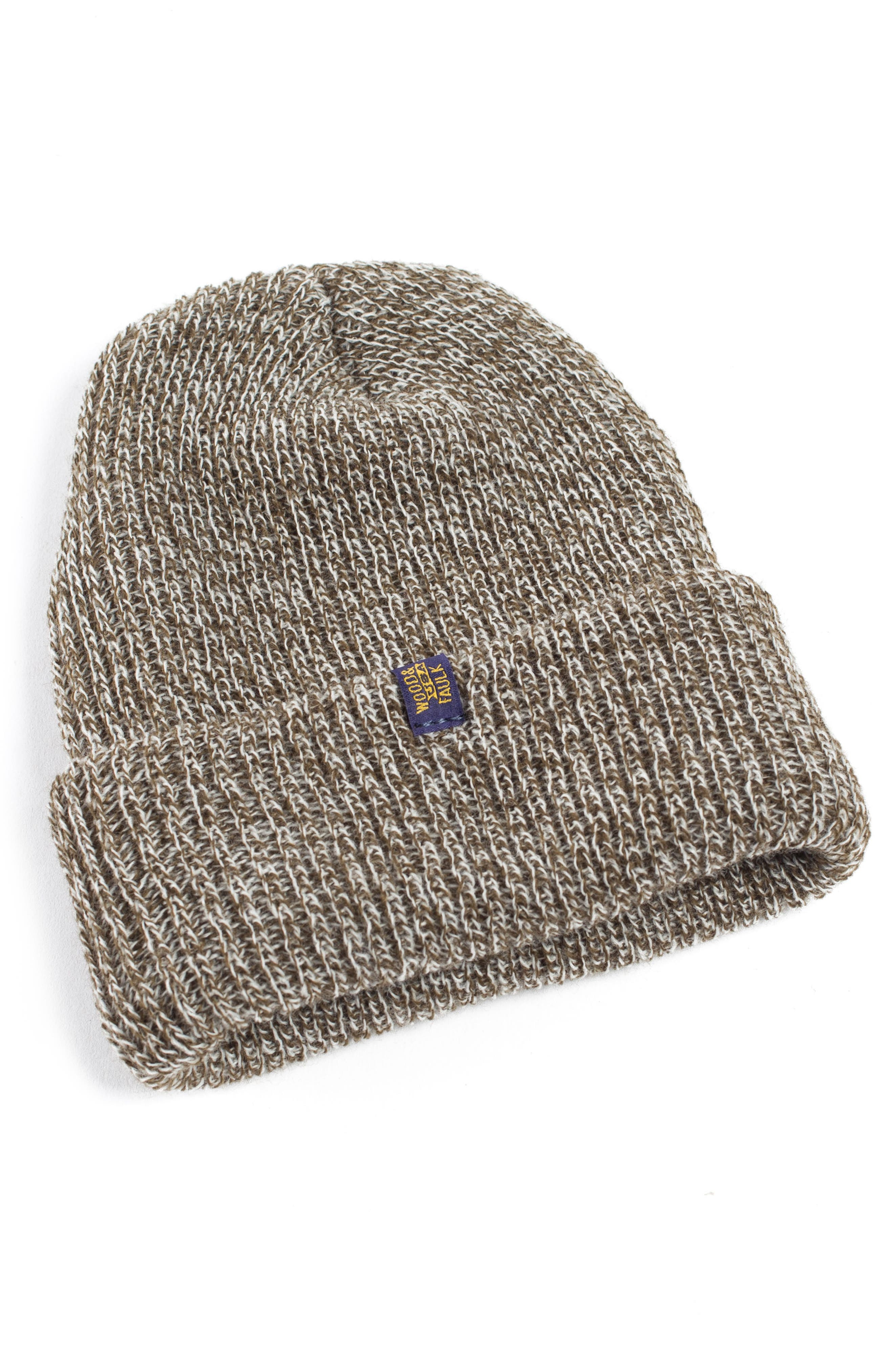 Wood & Faulk Knit Cap
