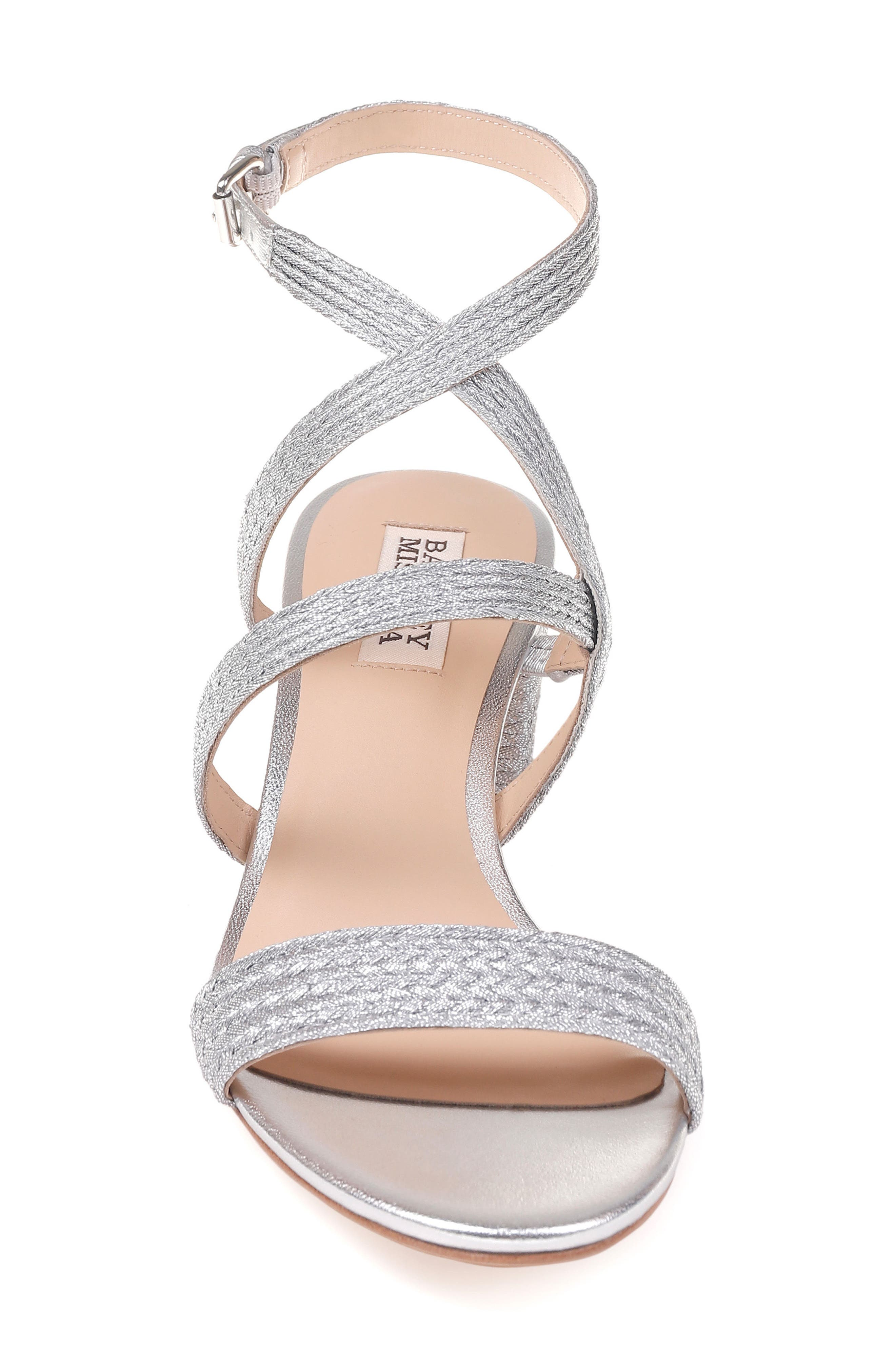 Alternate Image 4  - Badgley Mischka Storm Block Heel Sandal (Women)