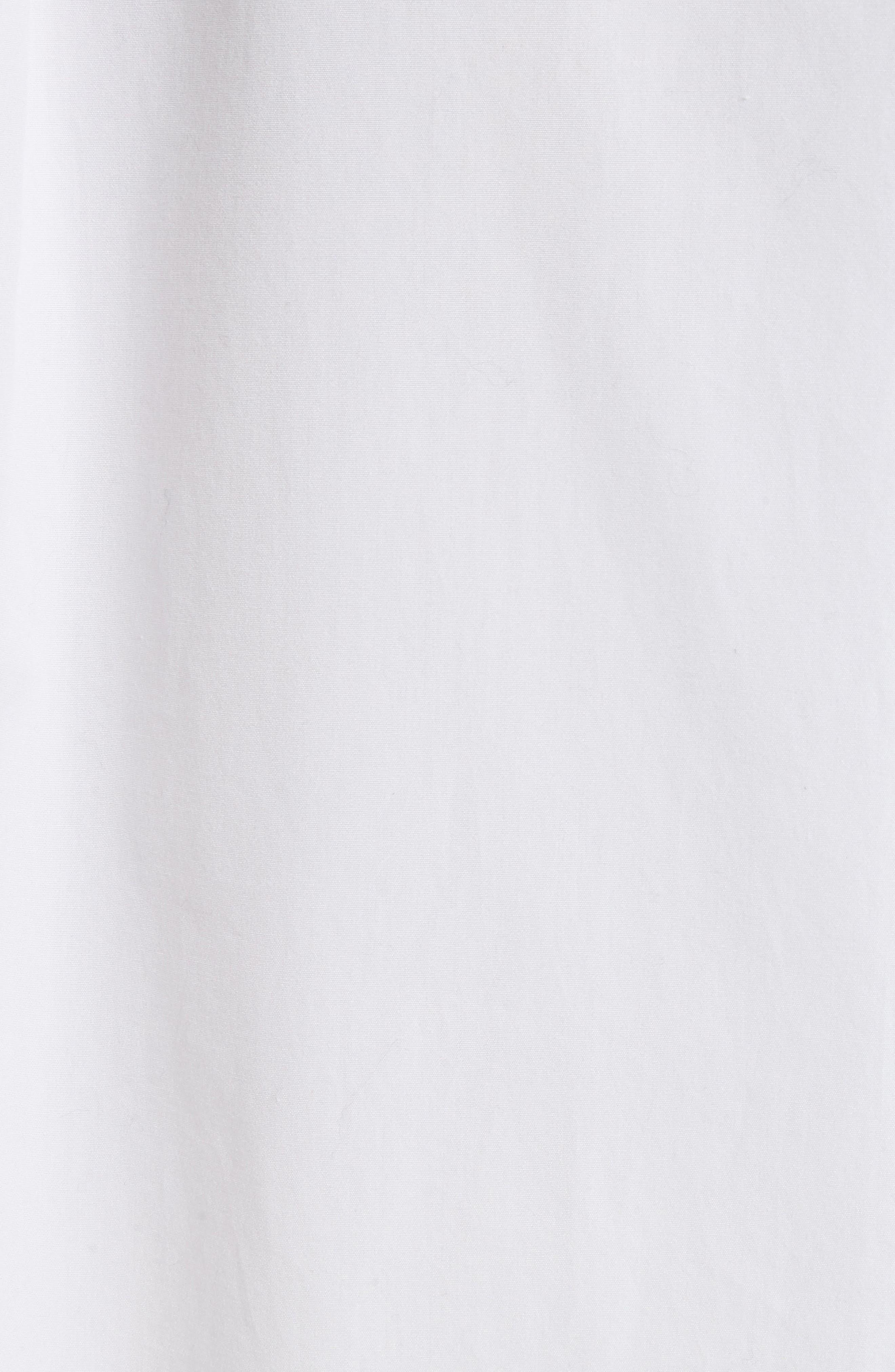 Swing Front Pullover Shirt,                             Alternate thumbnail 5, color,                             Optic White