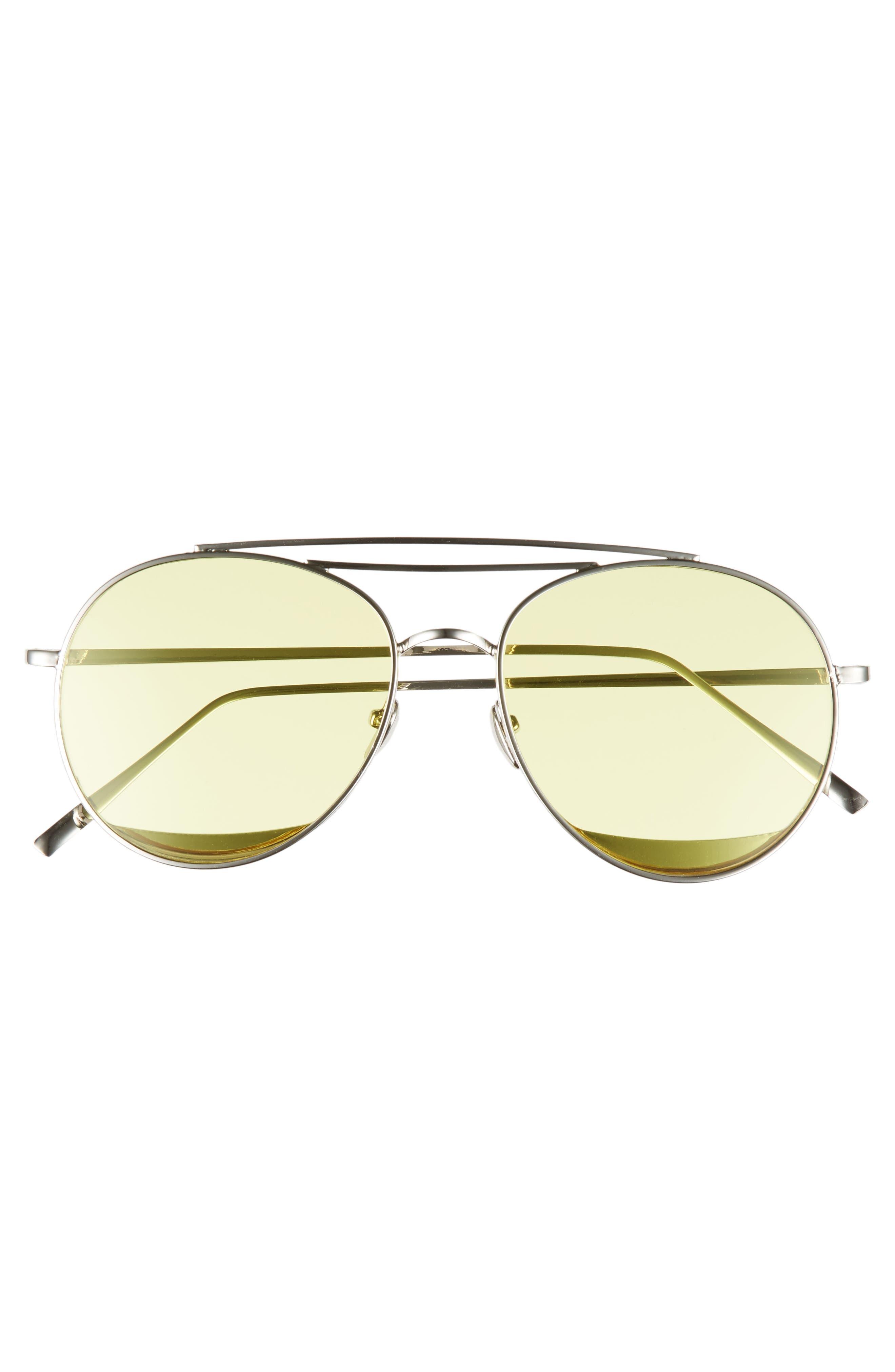 Alternate Image 3  - Shady Lady The Maddox 62mm Rimless Aviator Sunglasses