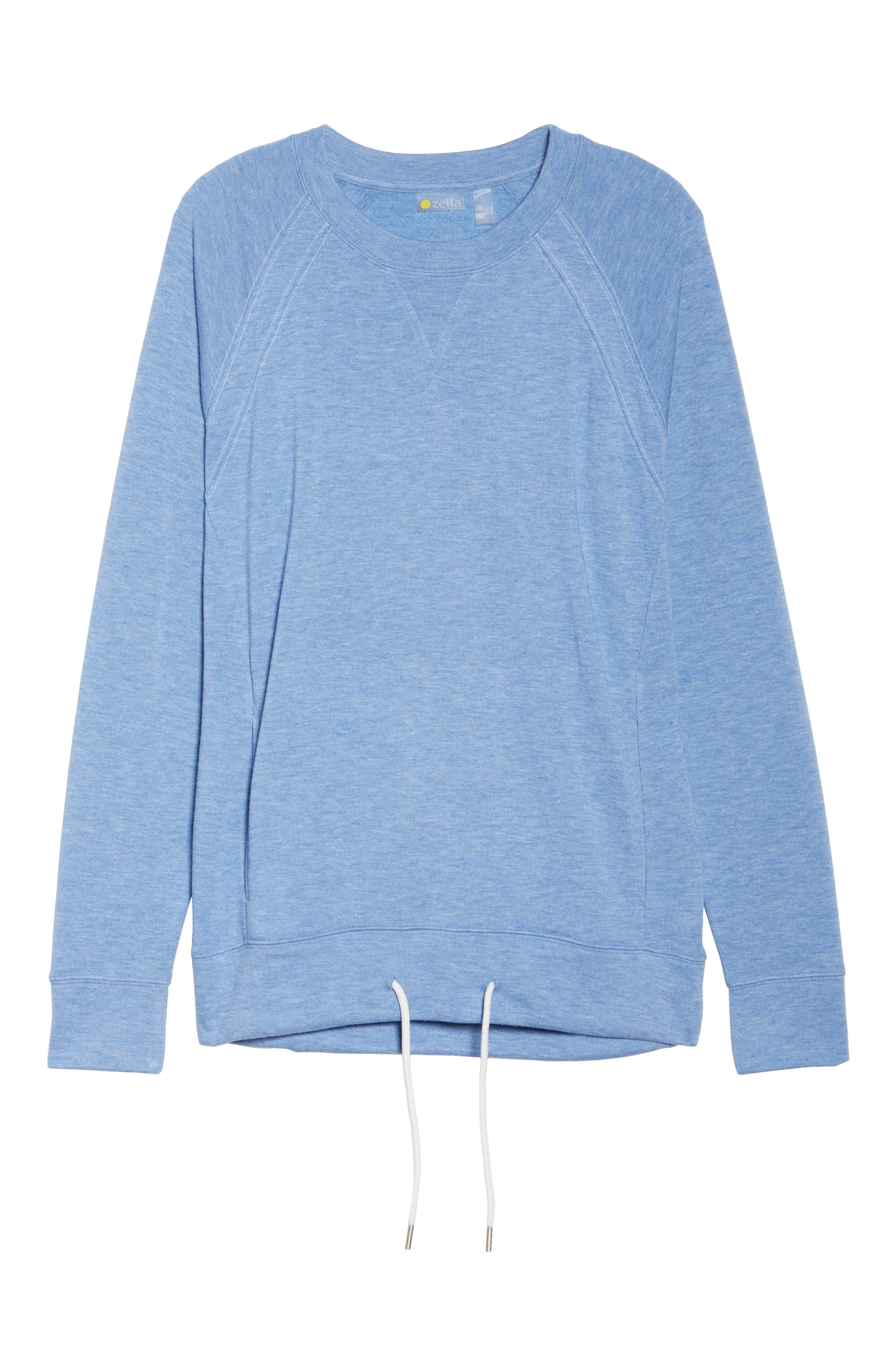 Draw Em In Pullover,                             Alternate thumbnail 7, color,                             Blue Haze Heather