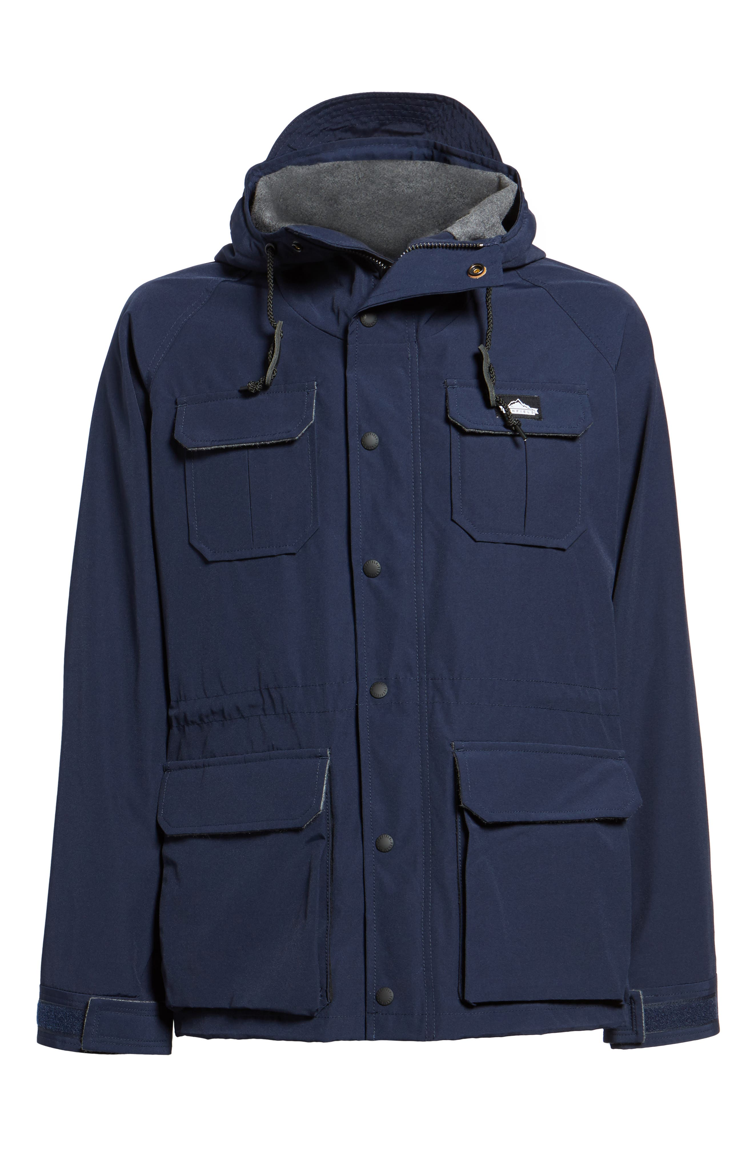Kasson Parka,                             Alternate thumbnail 6, color,                             Navy