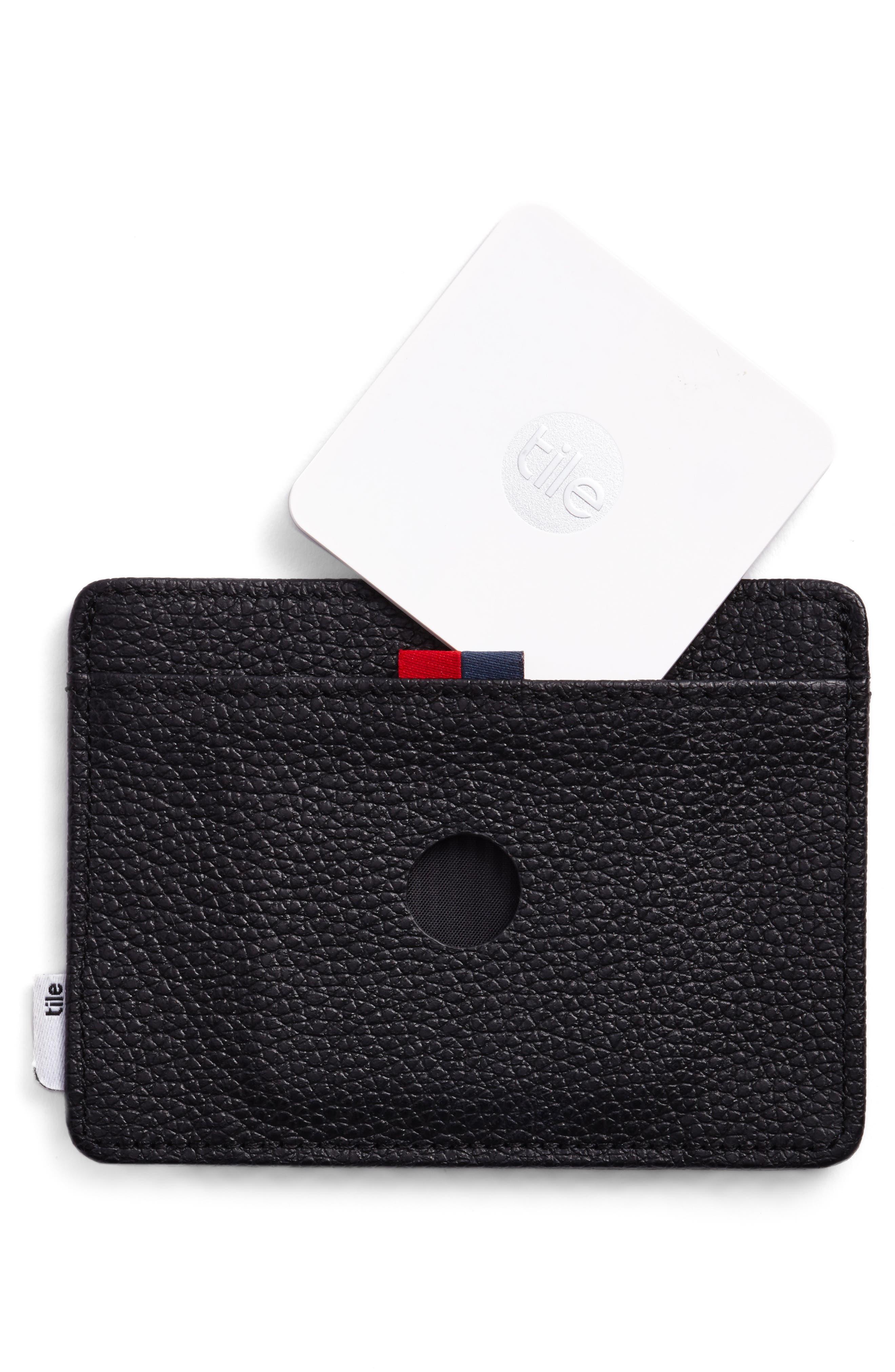 Alternate Image 3  - Herschel Supply Co. Tile Slim Charlie Leather Card Case