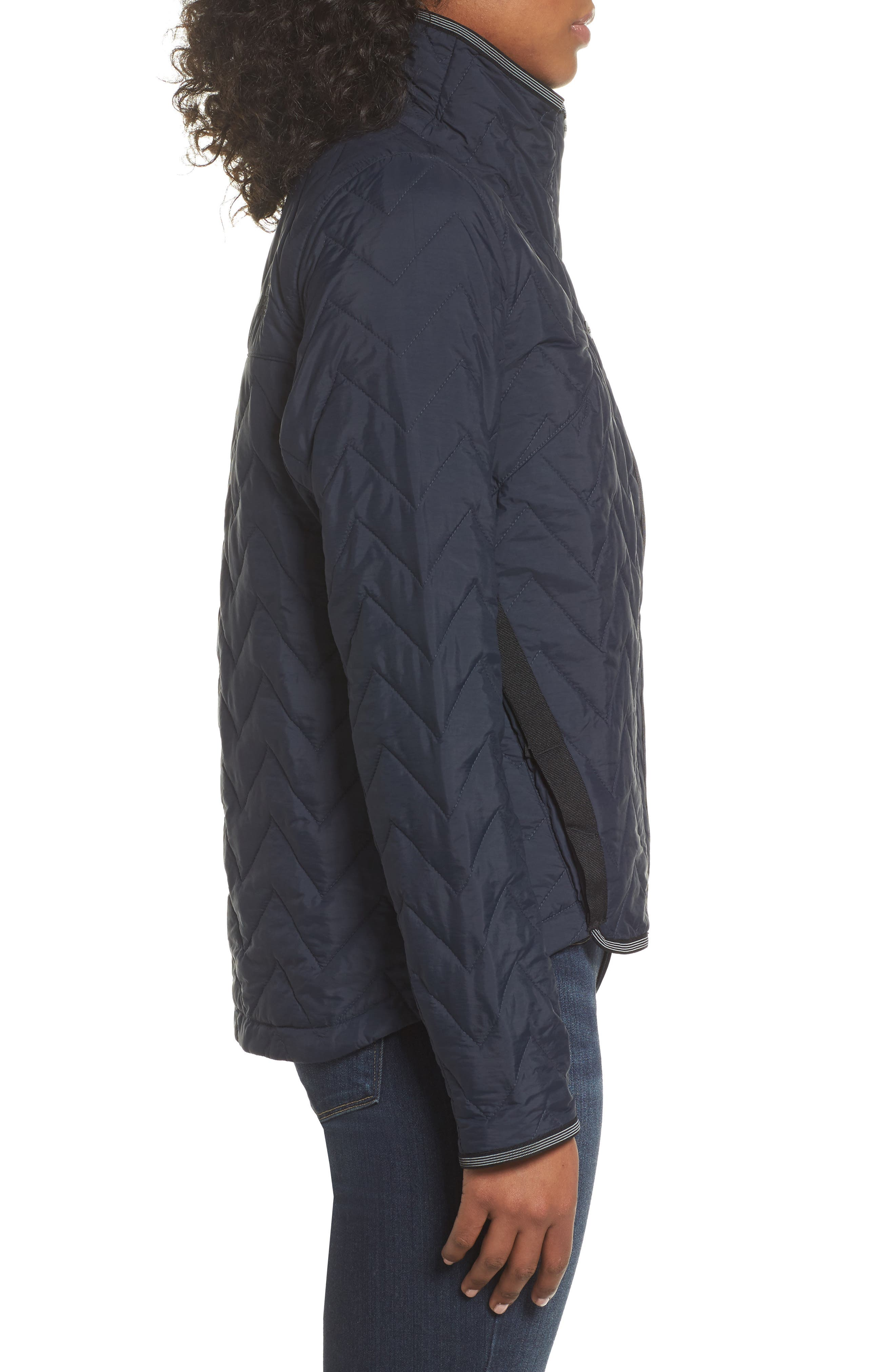 Westborough Insulated Jacket,                             Alternate thumbnail 3, color,                             Urban Navy