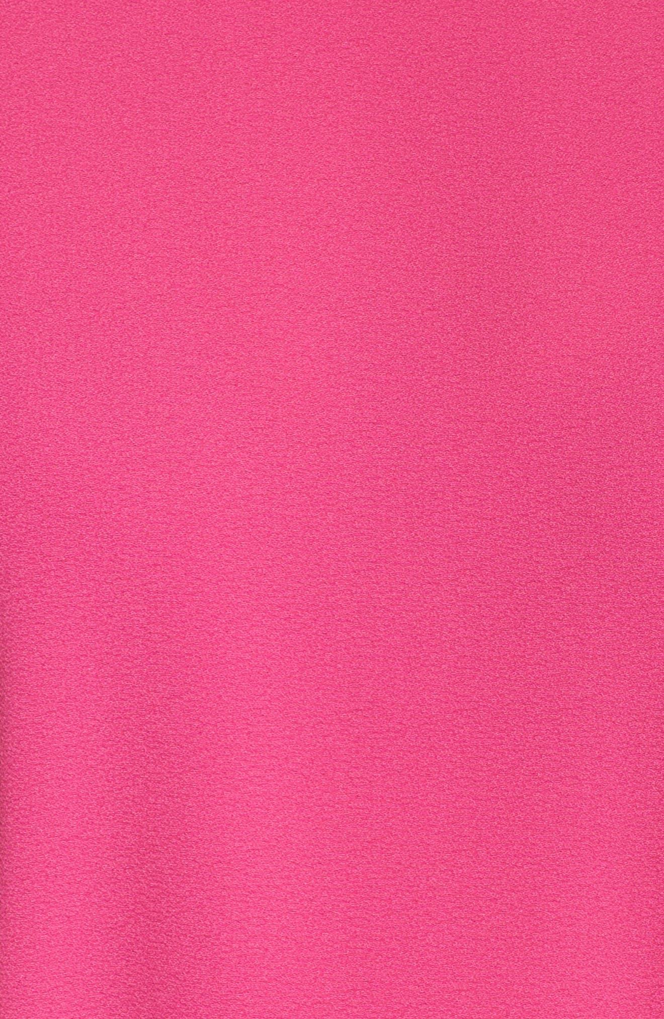 Halia Tie Waist Dress,                             Alternate thumbnail 5, color,                             Pink
