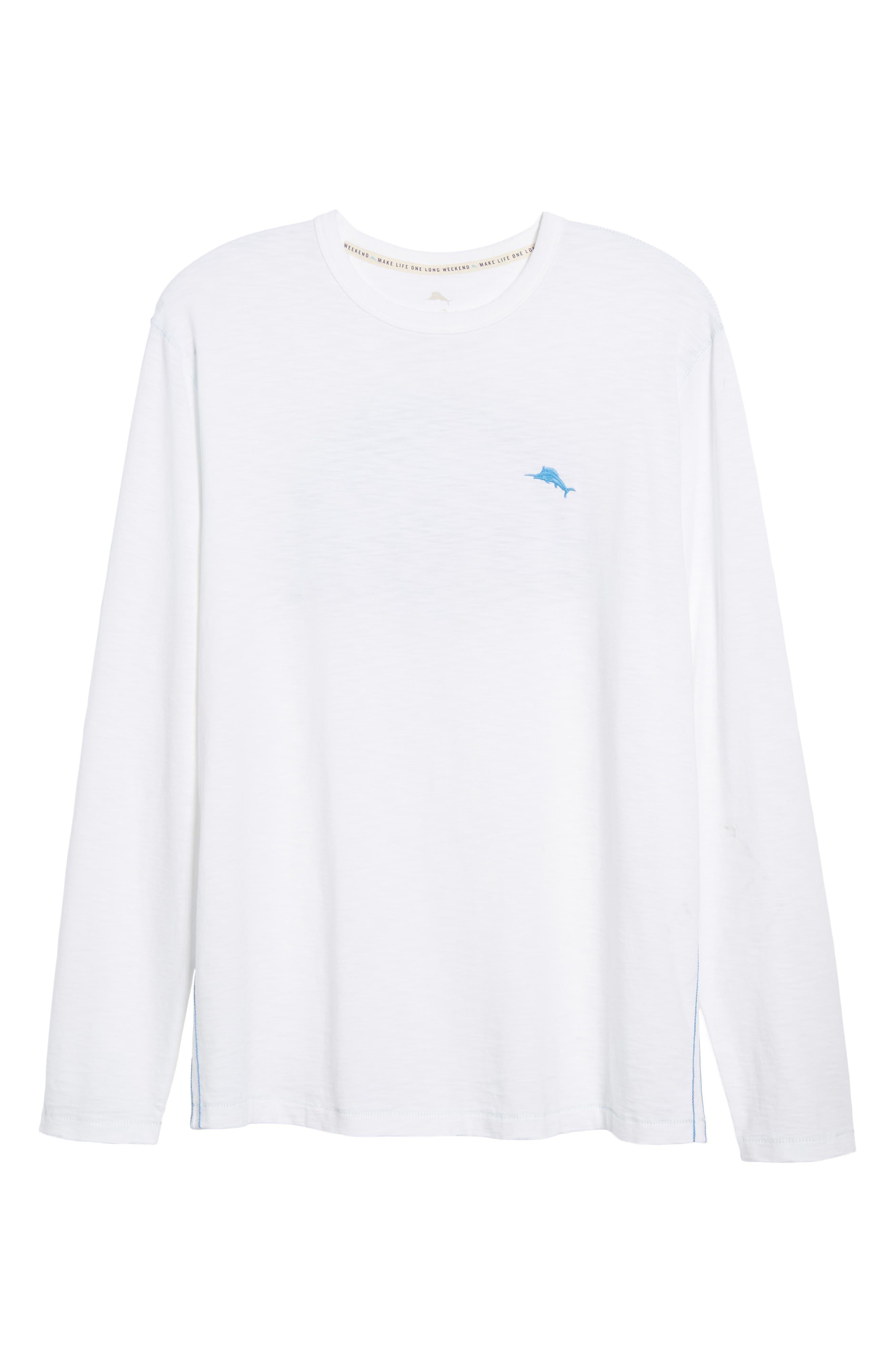 Palmae Beach Lux T-Shirt,                             Alternate thumbnail 6, color,                             White
