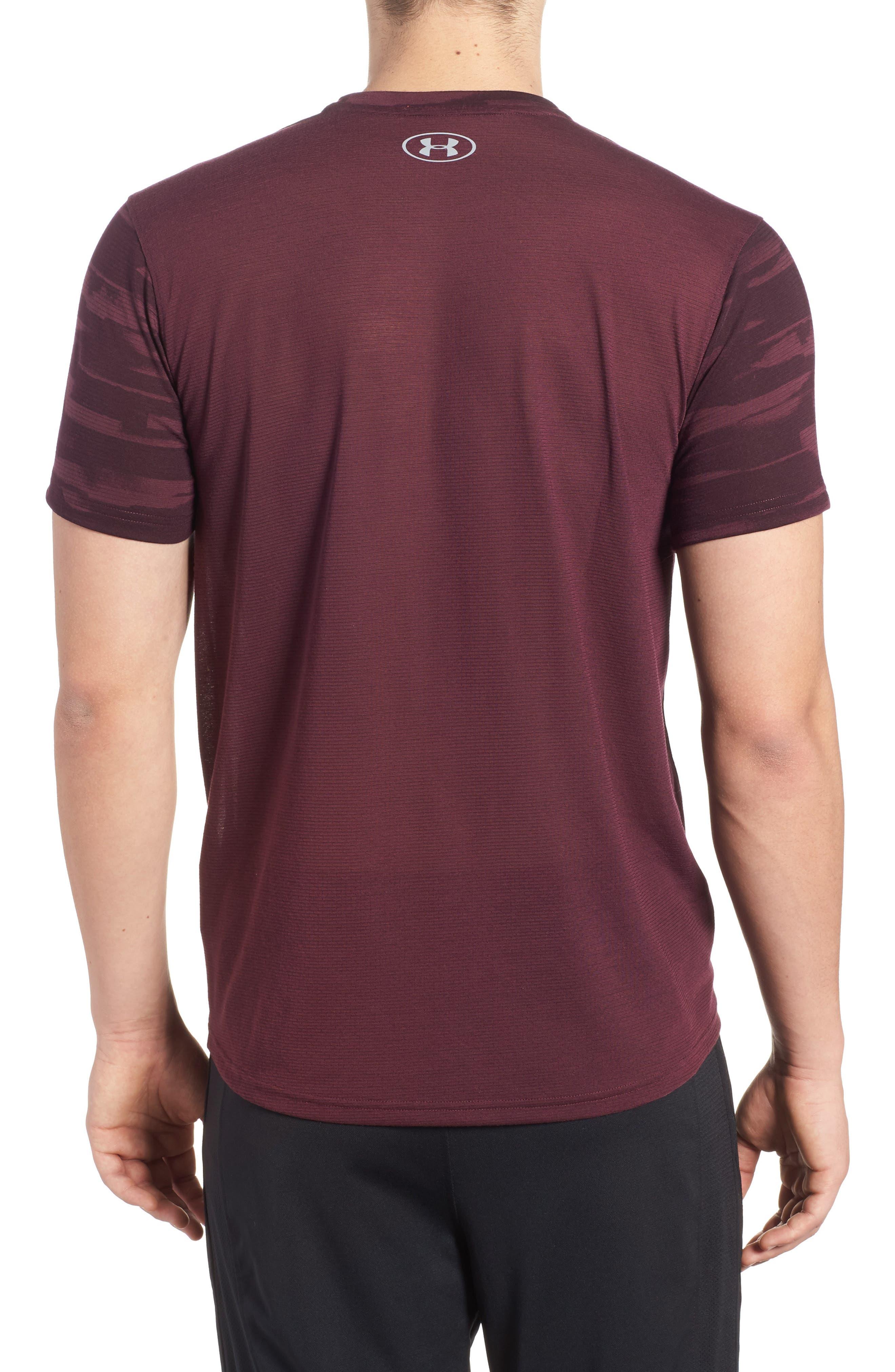 Alternate Image 2  - Under Armour Threadborne Mesh Running T-Shirt