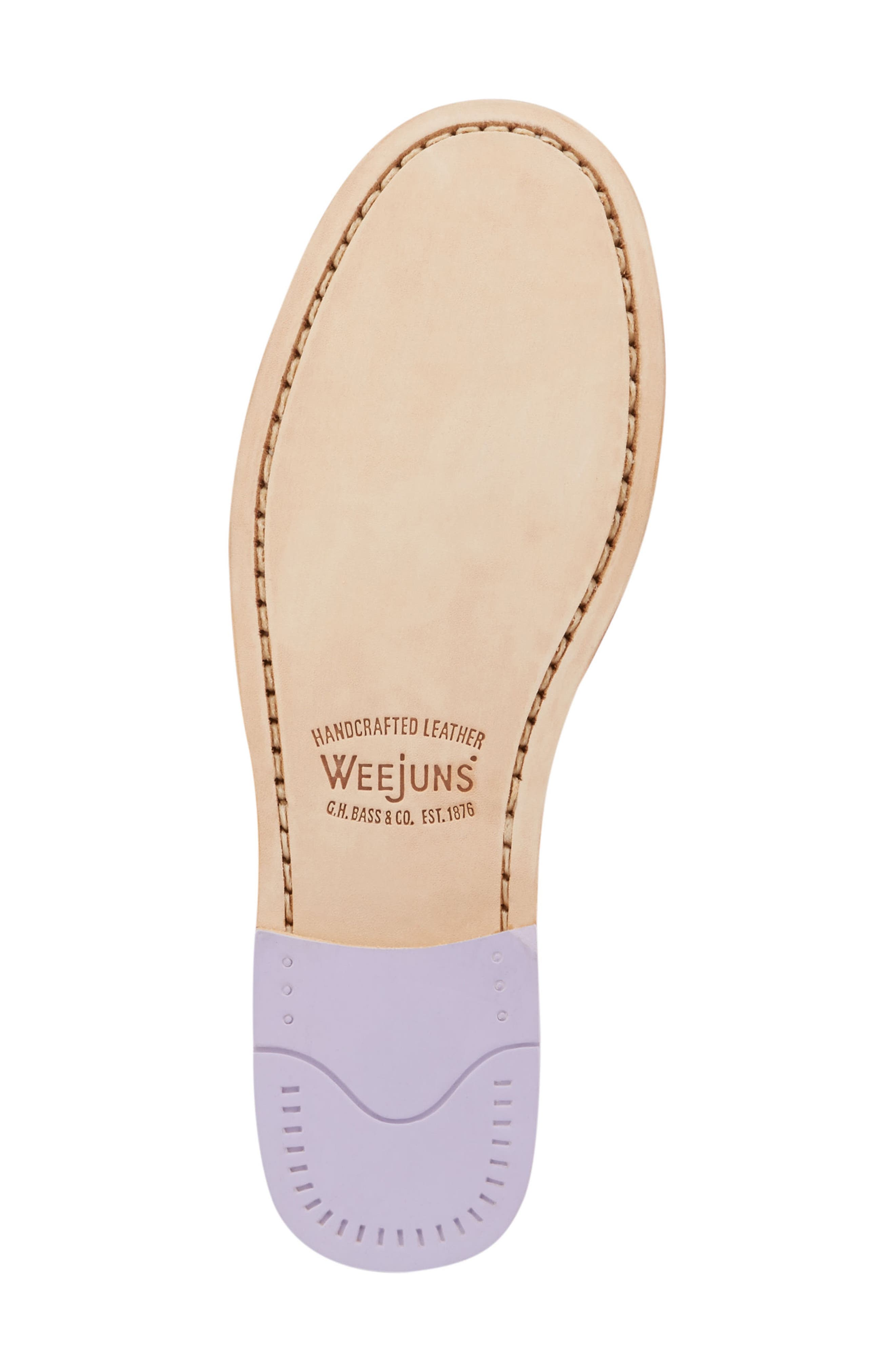 'Whitney' Loafer,                             Alternate thumbnail 6, color,                             Lilac Leather