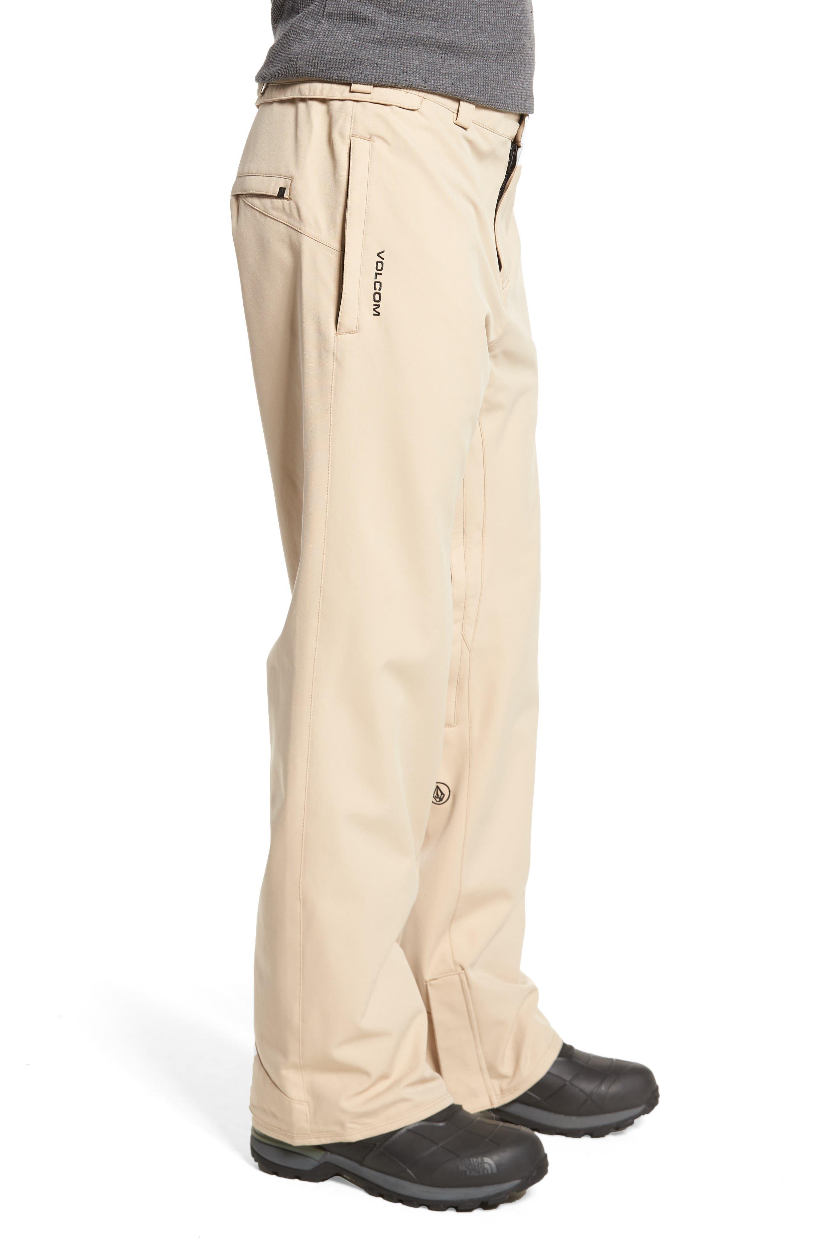 Weatherproof Snow Chino Pants,                             Alternate thumbnail 3, color,                             Khaki