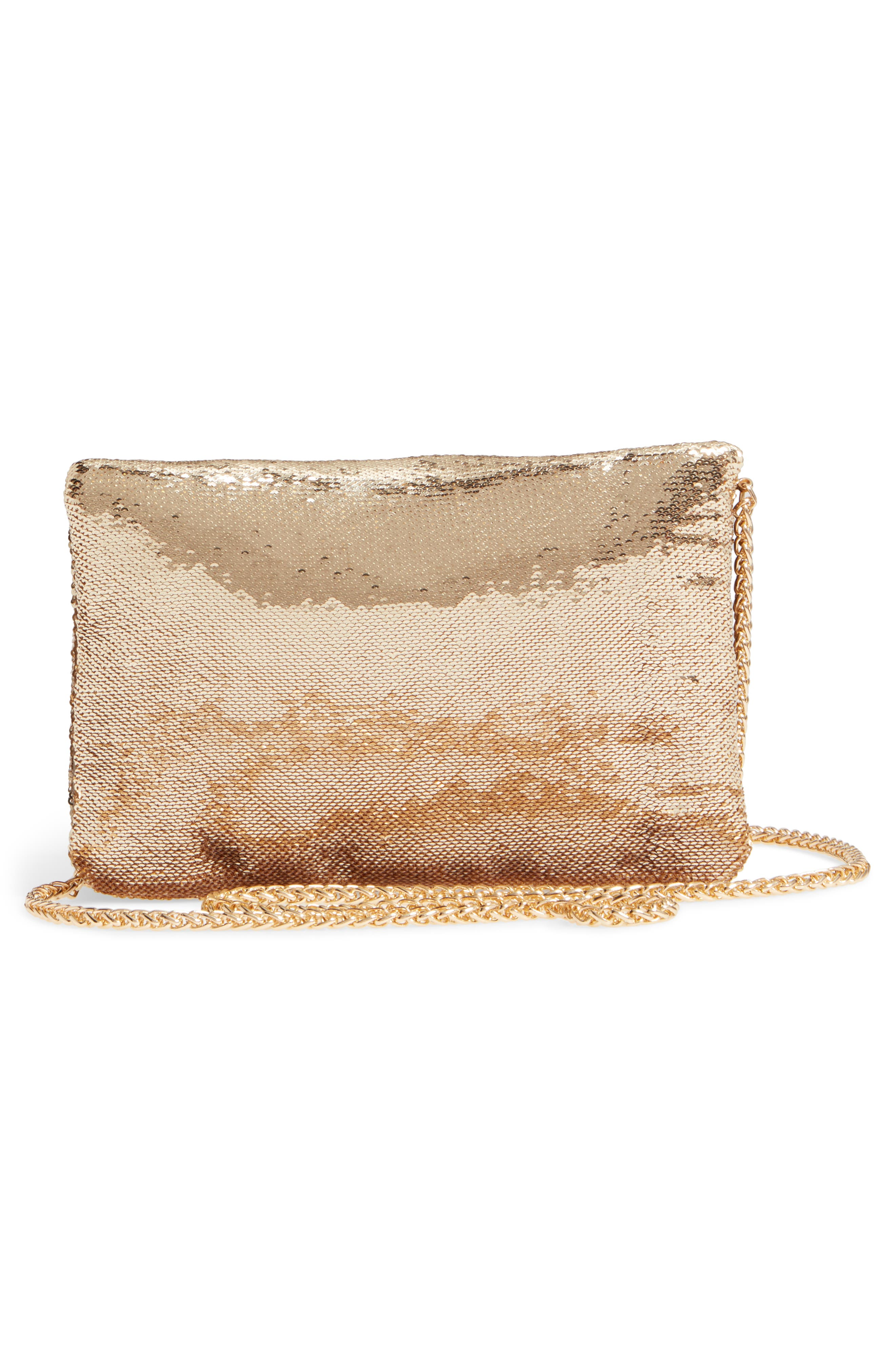 Alternate Image 3  - Street Level Sequin Clutch