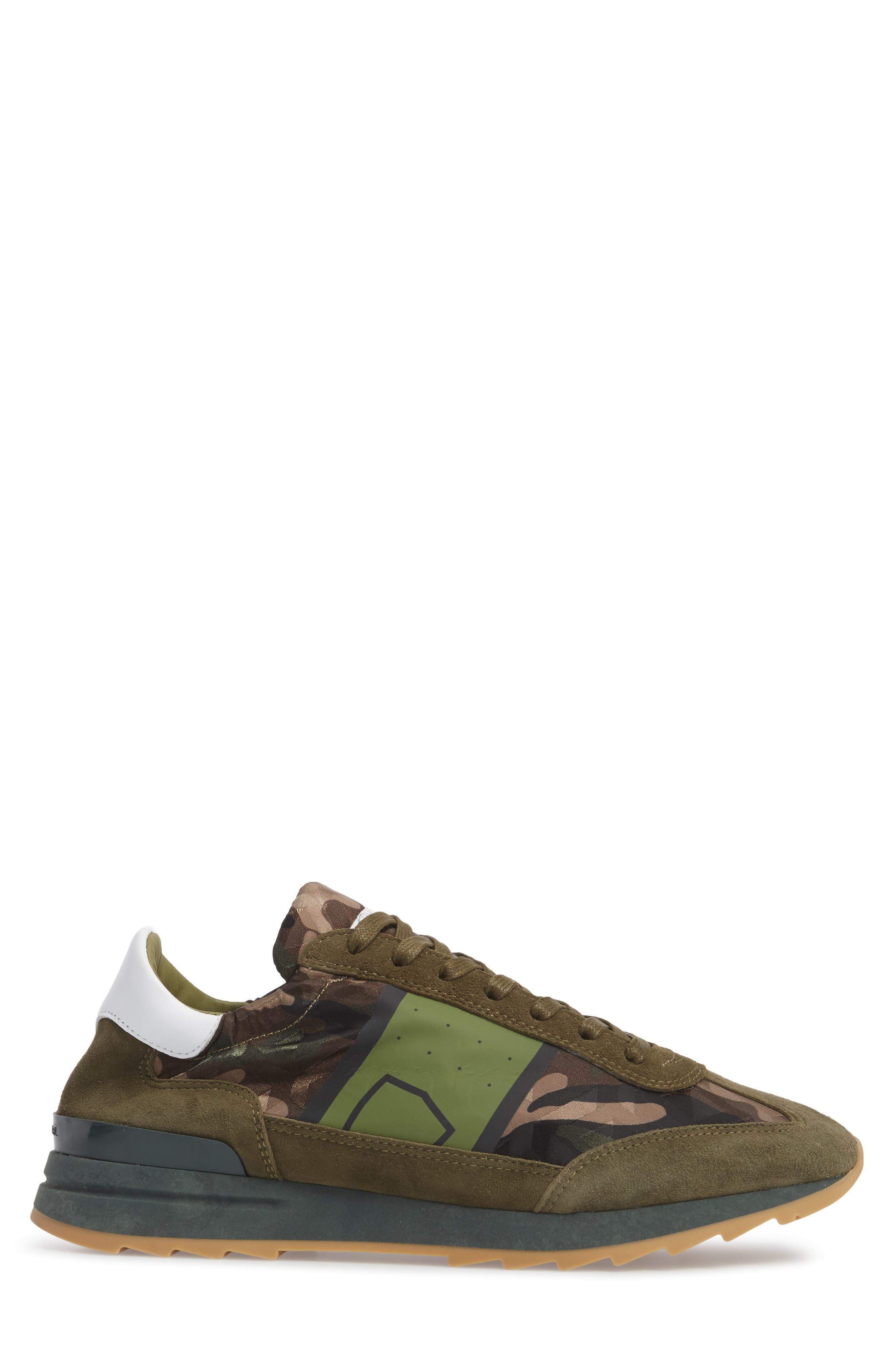 Toujours Sneaker,                             Alternate thumbnail 3, color,                             Green/ Green