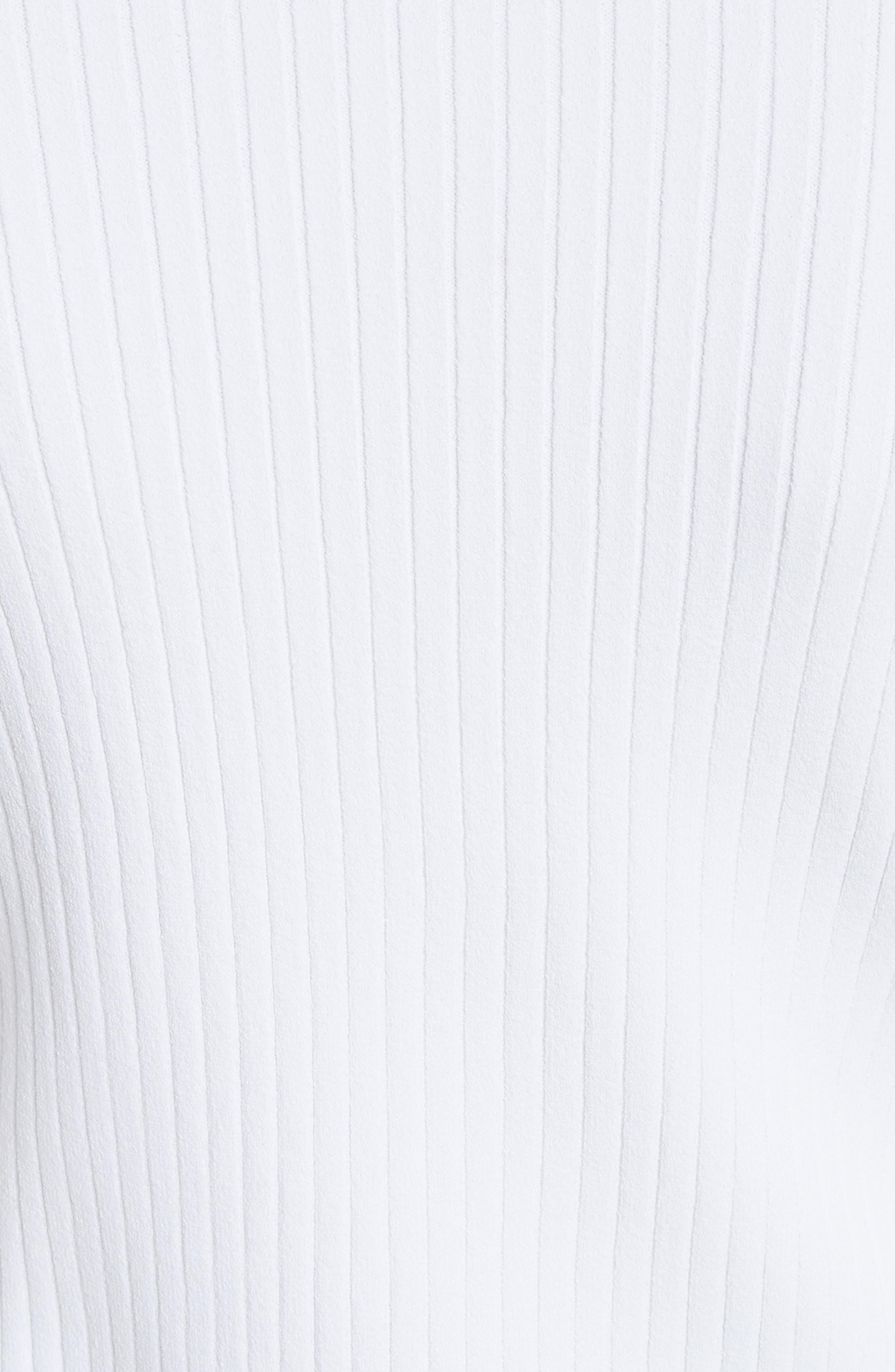 Alternate Image 5  - Valentino Logo Sleeve Knit Top