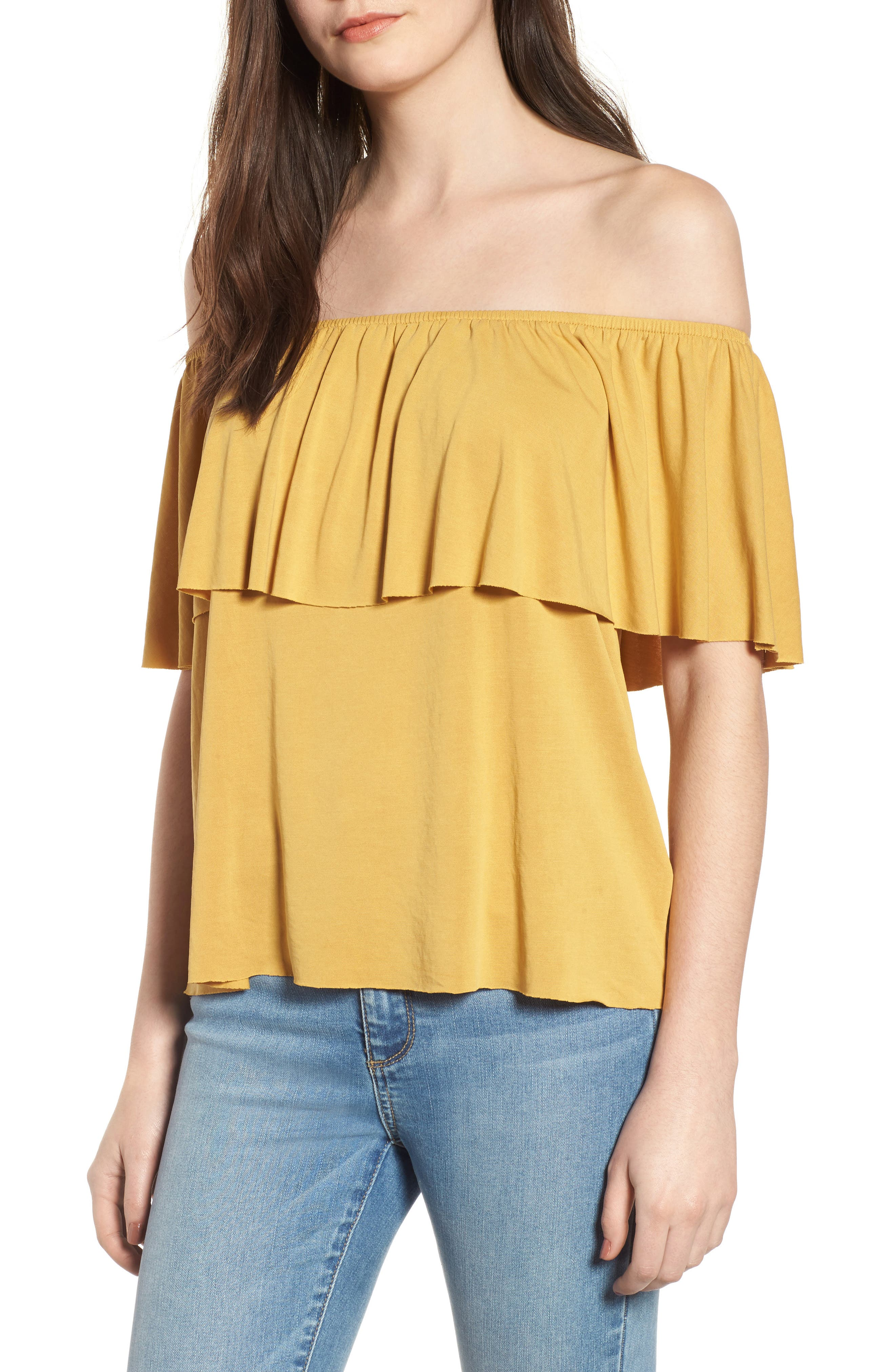 Lira Clothing Naomi Off the Shoulder Top
