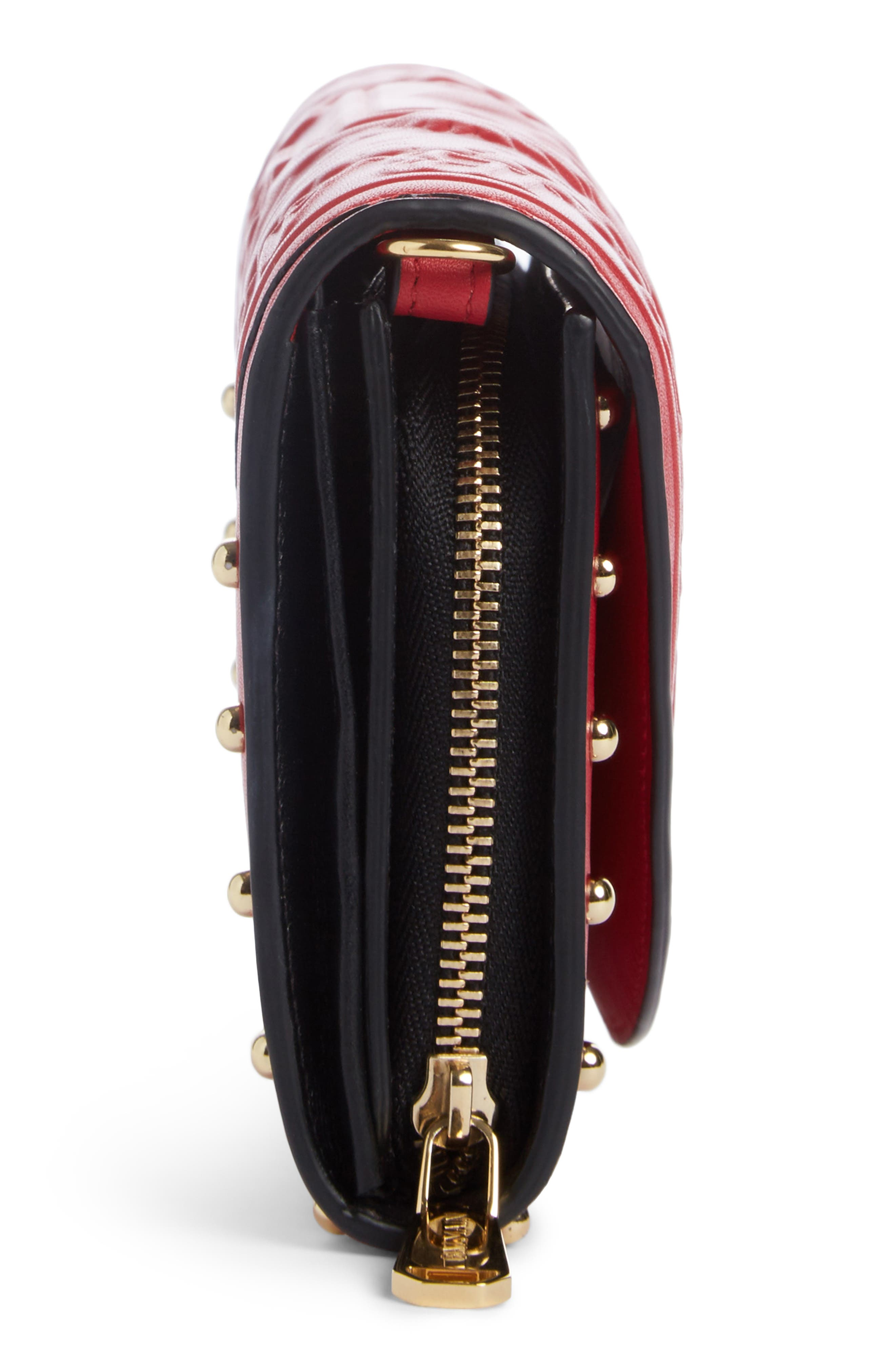 Alternate Image 4  - Balmain Renaissance Leather Wallet on a Chain