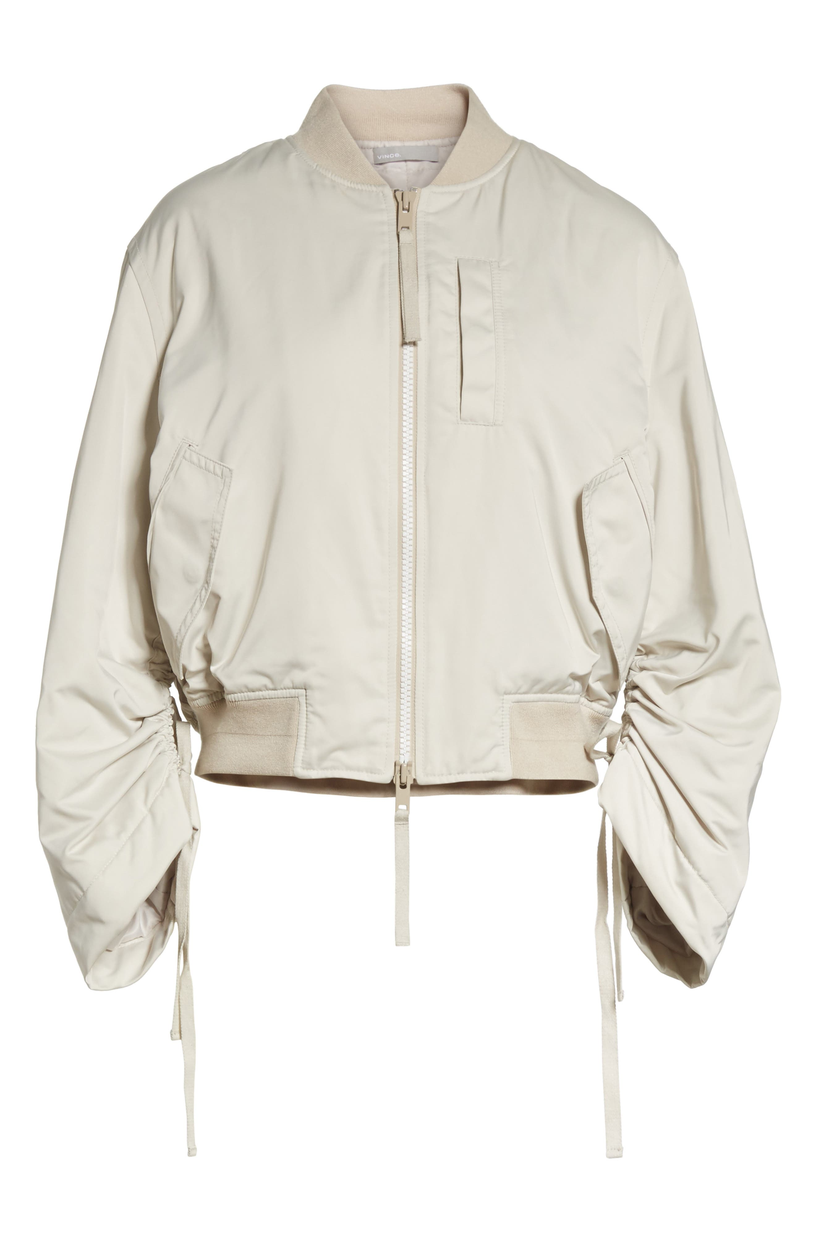 Parachute Bomber Jacket,                             Alternate thumbnail 6, color,                             Chalet