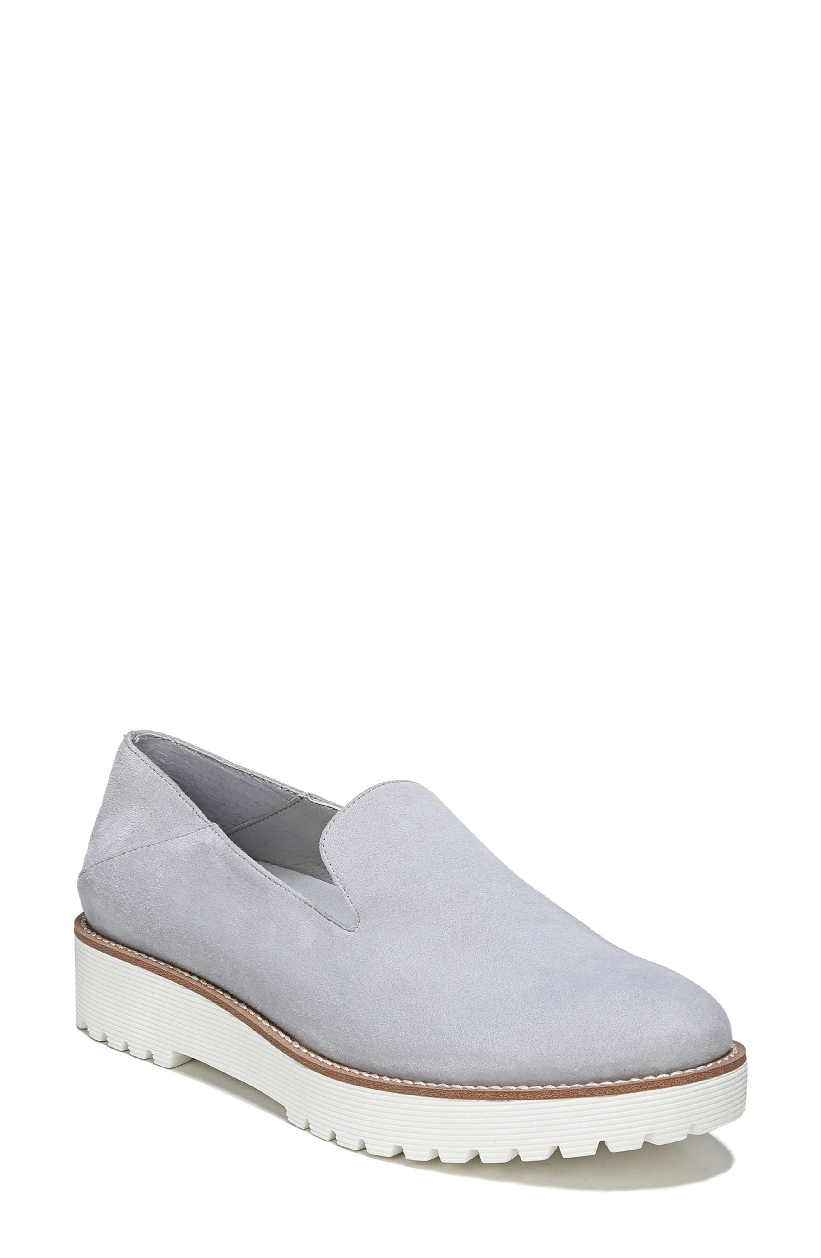 Jaxton Loafer,                             Main thumbnail 1, color,                             Artic Grey Suede