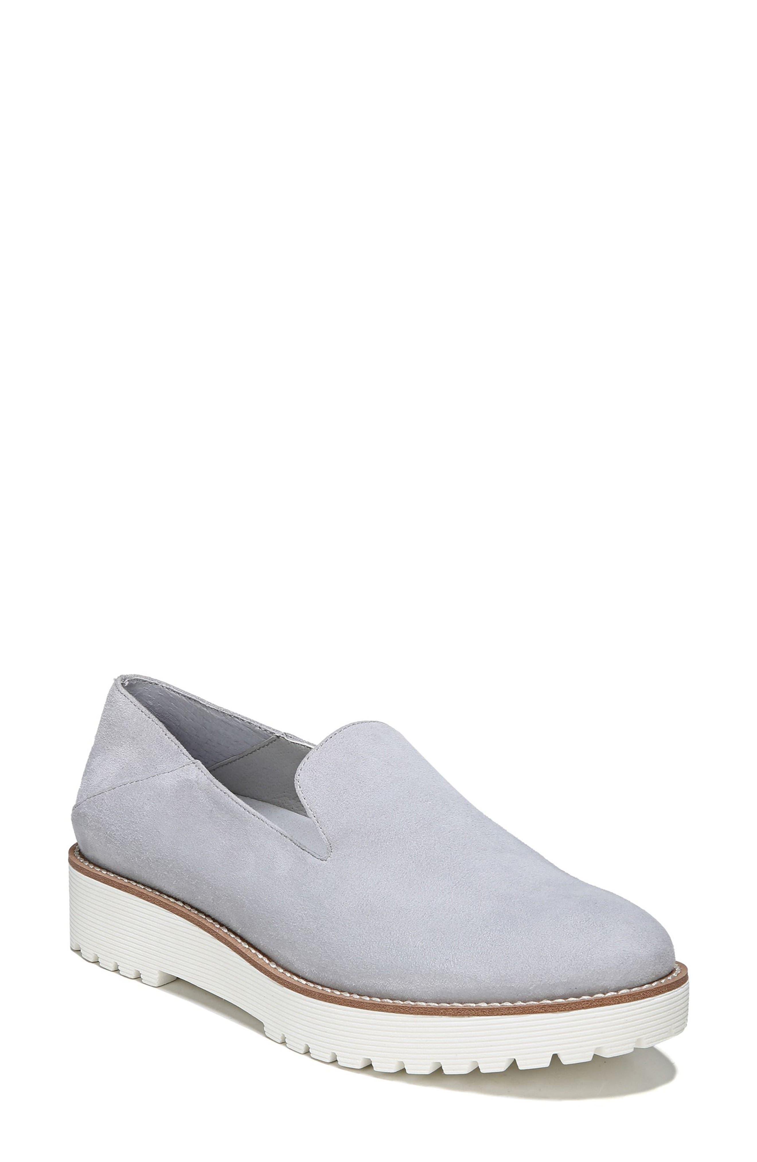 Jaxton Loafer,                         Main,                         color, Artic Grey Suede