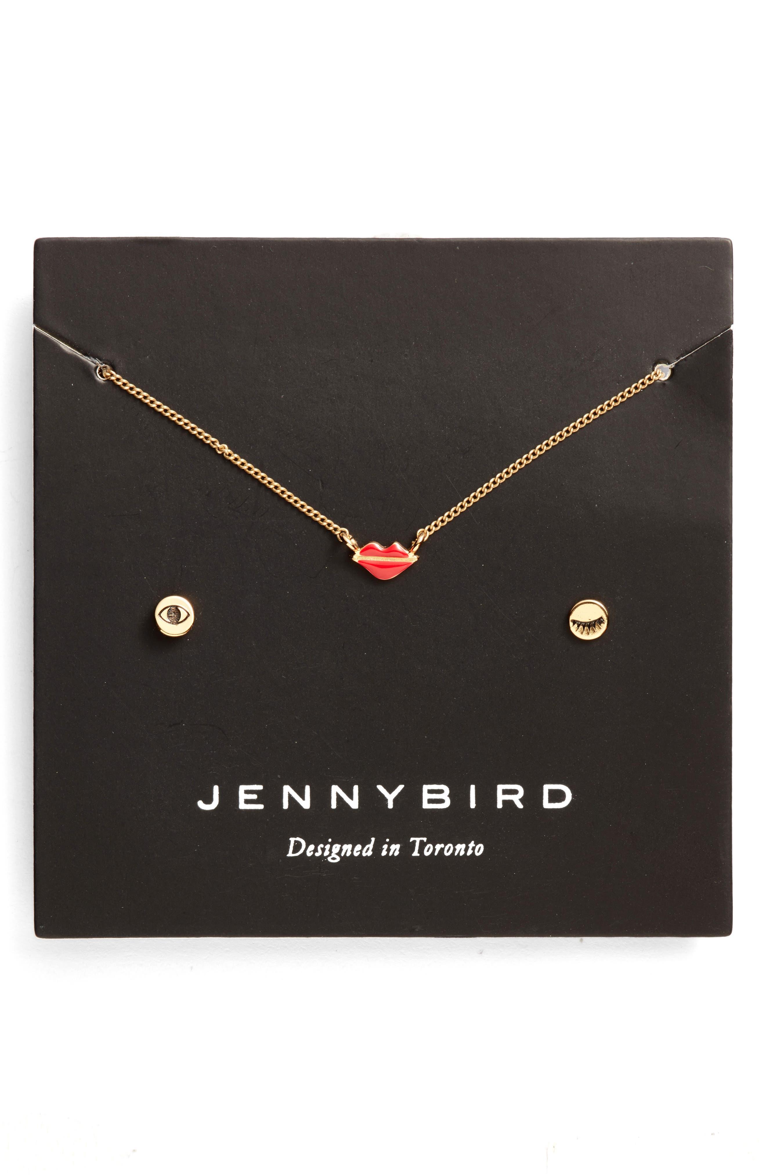 Jenny Bird KISS MY FACE NECKLACE SET