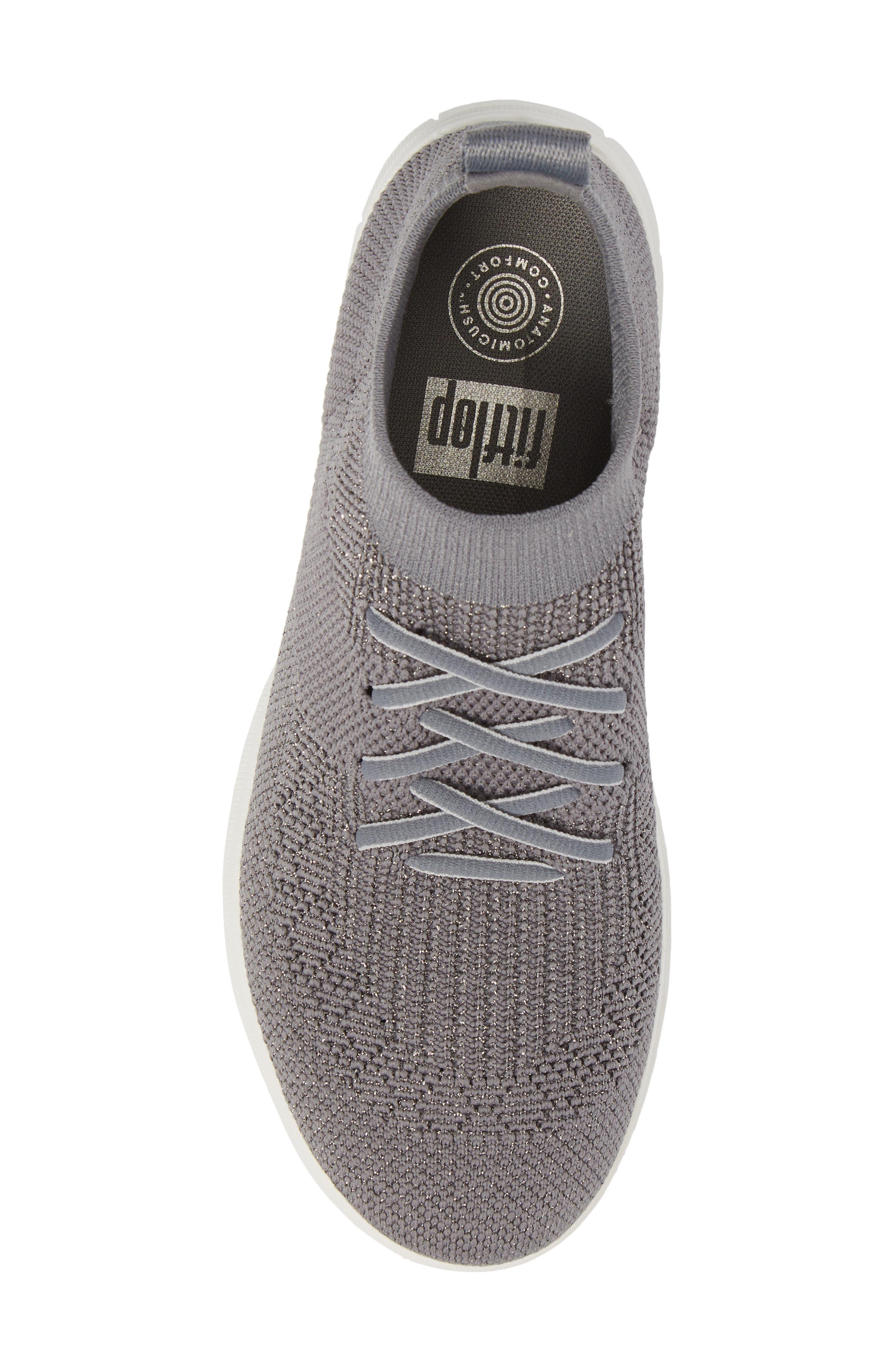 Alternate Image 5  - FitFlop Uberknit™ Slip-On High-Top Sneaker (Women)