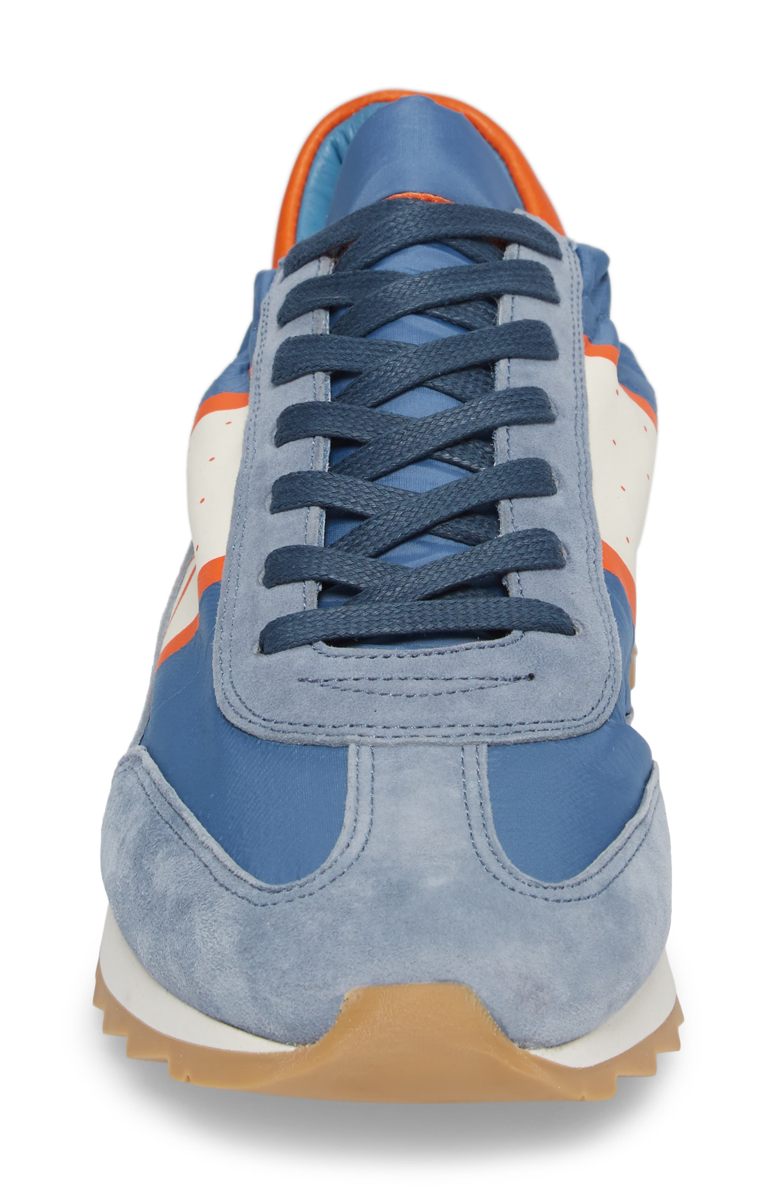 Toujours Sneaker,                             Alternate thumbnail 4, color,                             Blue/ White