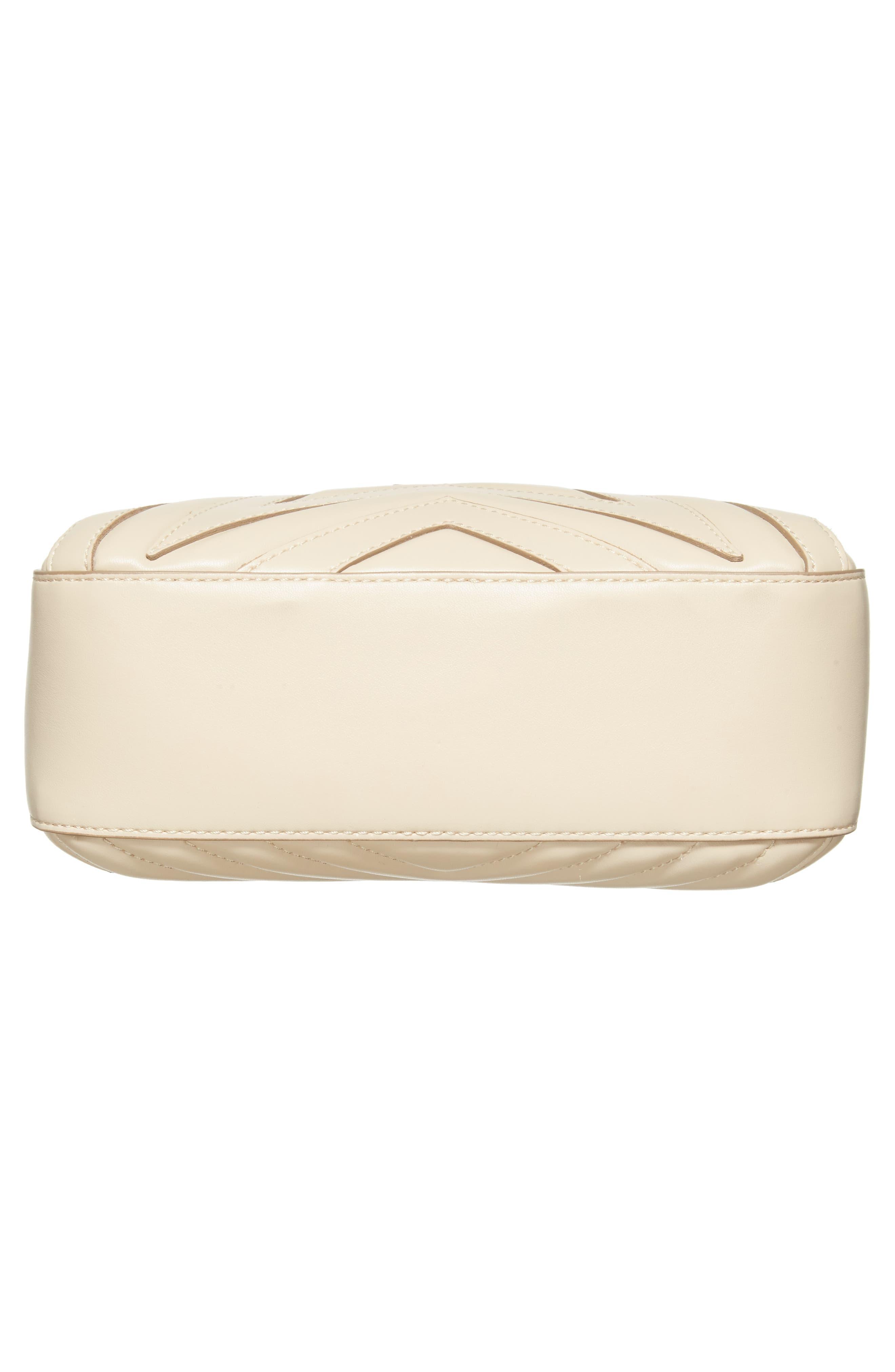 Alter Nappa Faux Leather Shoulder Bag,                             Alternate thumbnail 5, color,                             Cream